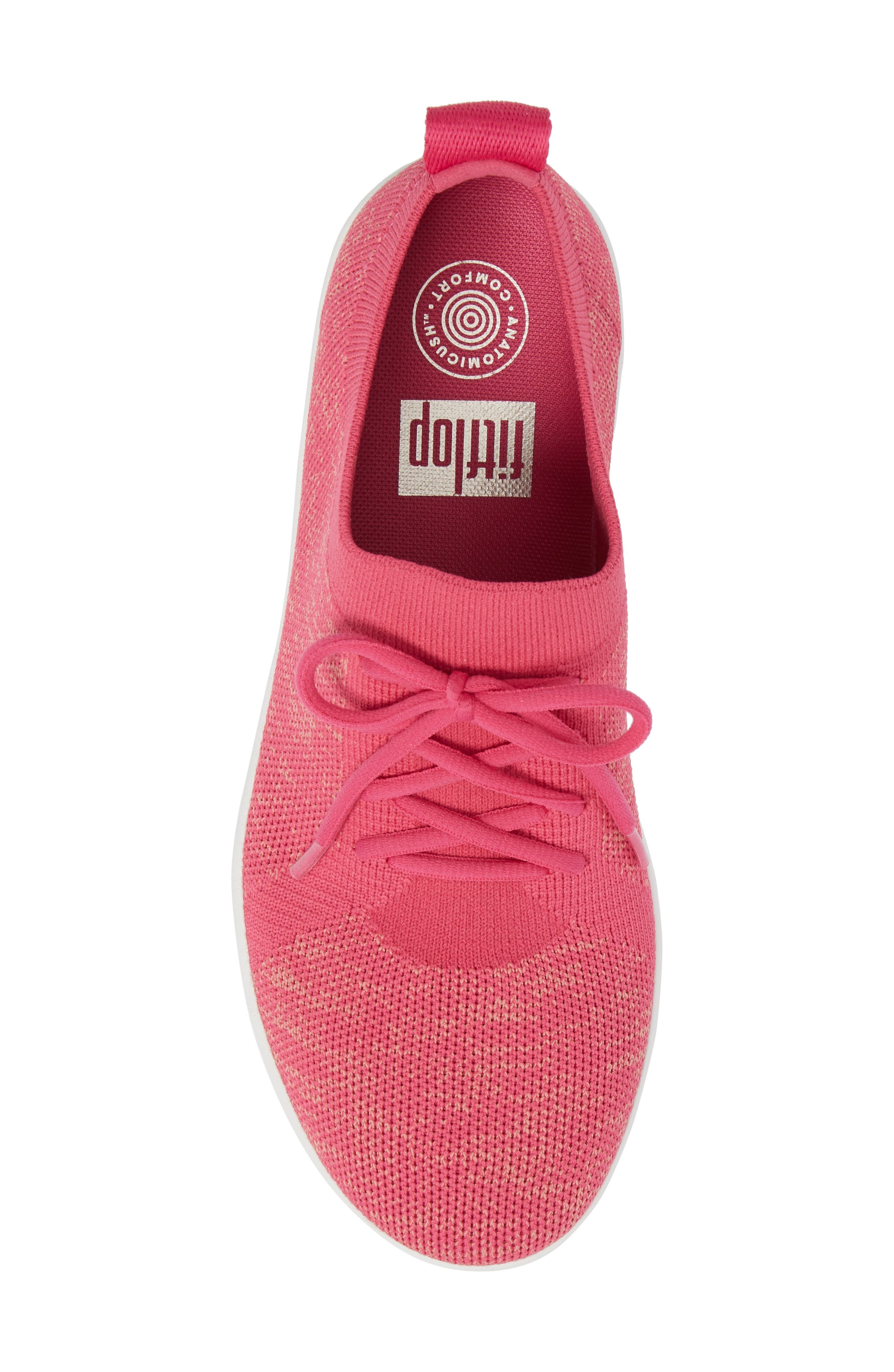 F-Sporty Uberknit<sup>™</sup> Sneaker,                             Alternate thumbnail 5, color,                             FUCHSIA/ DUSTY PINK