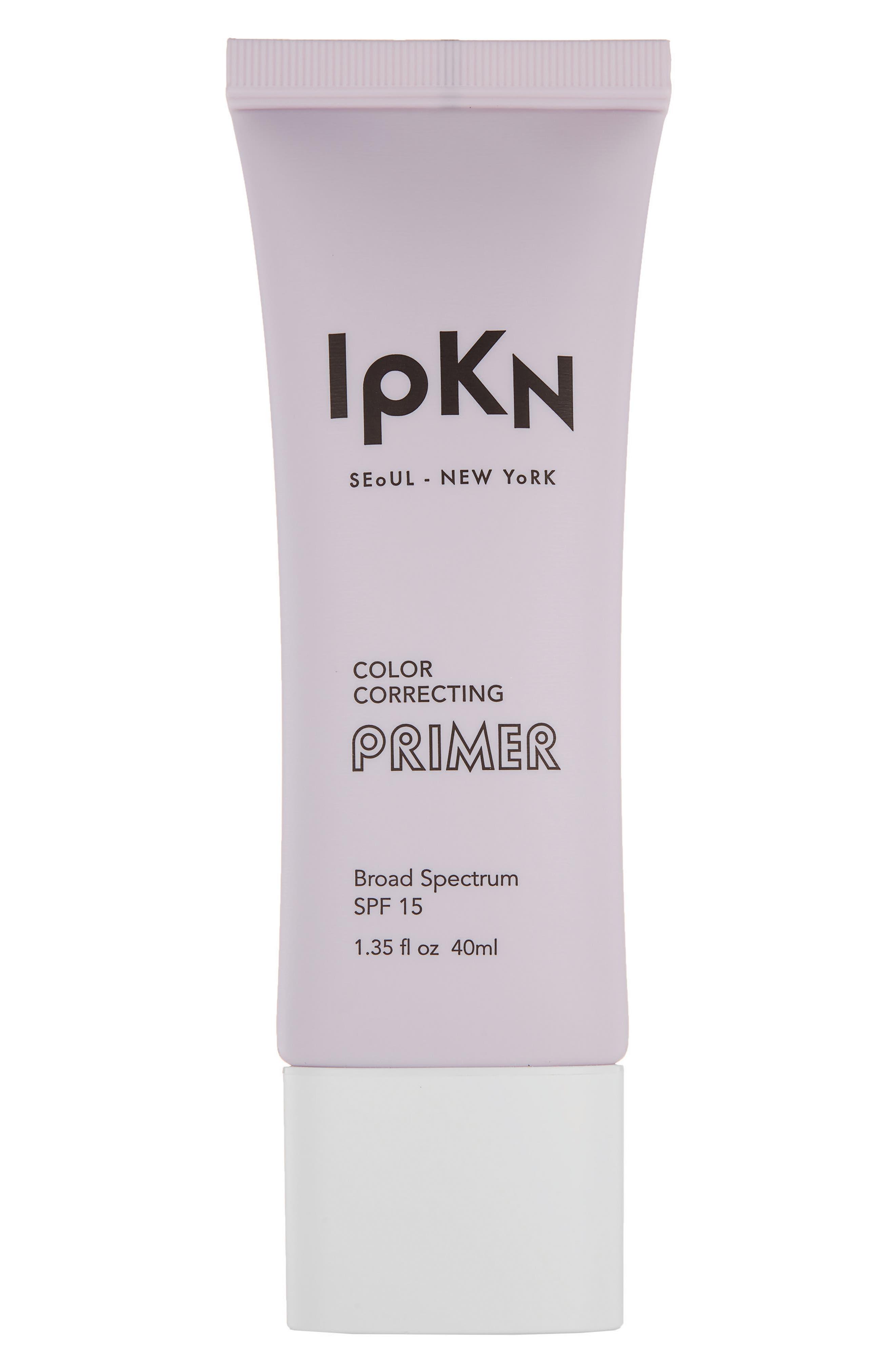 IPKN,                             Purple Color Correcting Primer SPF 15,                             Main thumbnail 1, color,                             500