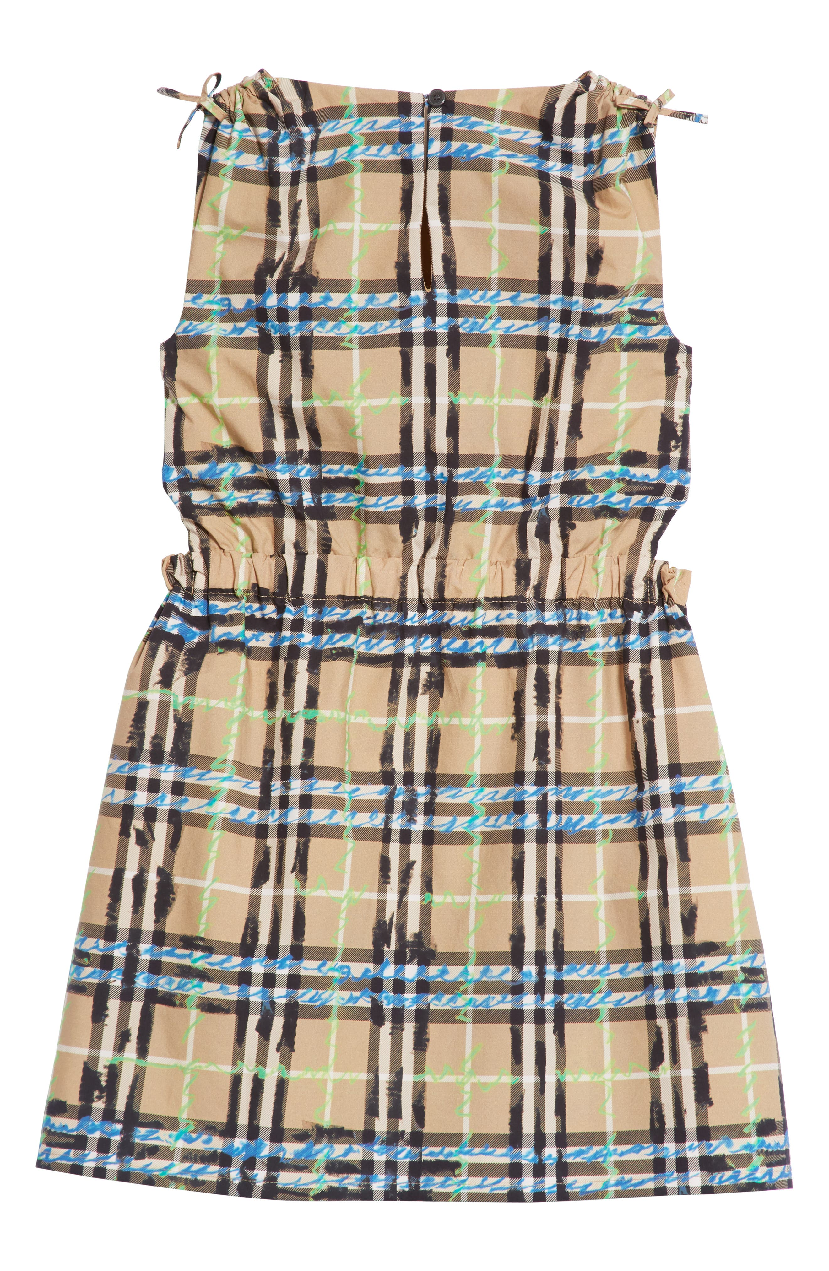 Candra Scribble Check Dress,                             Alternate thumbnail 2, color,                             431
