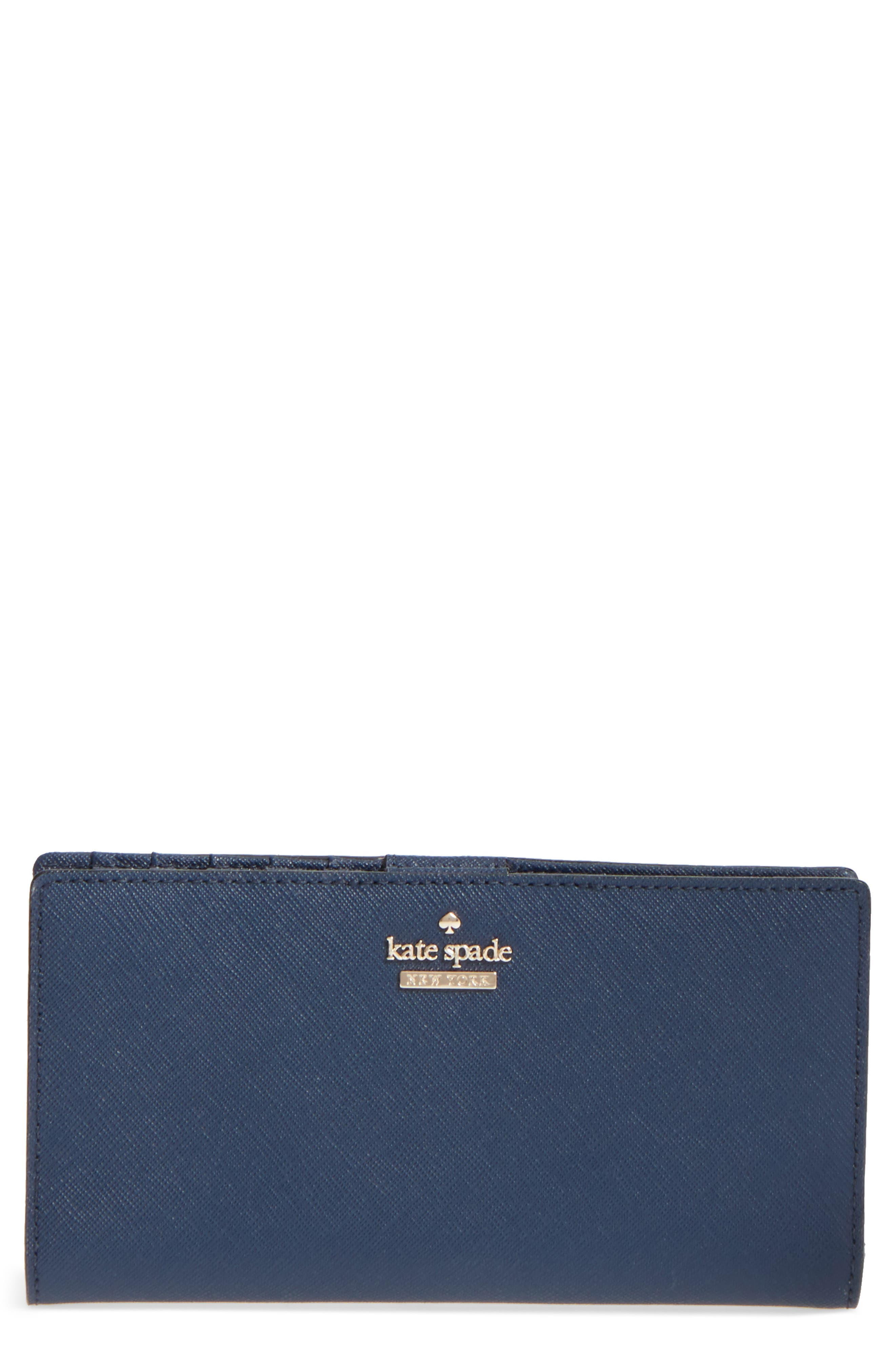 'cameron street - stacy' textured leather wallet,                             Main thumbnail 1, color,                             255