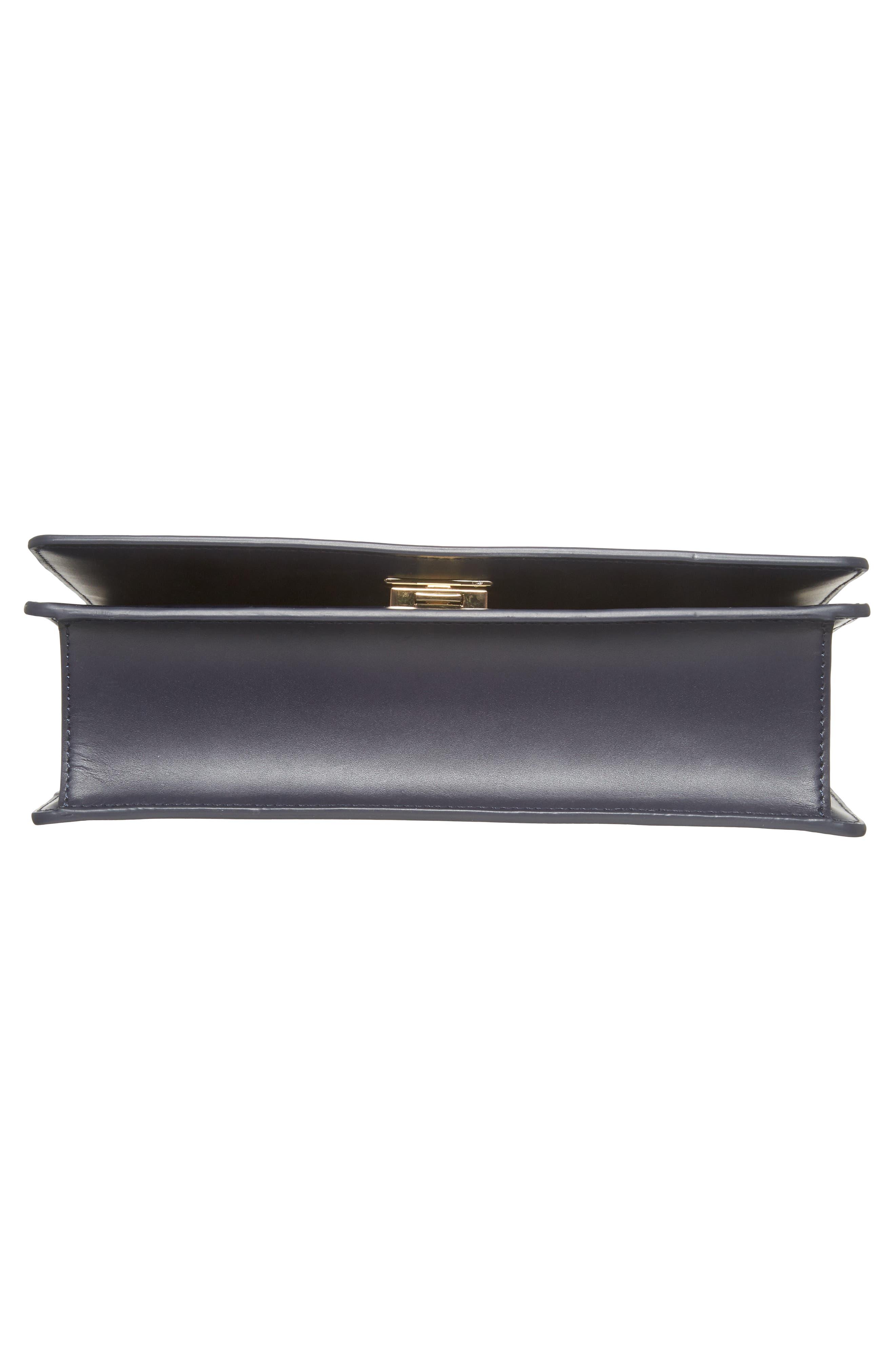 starbright marci LED light-up faux leather shoulder bag,                             Alternate thumbnail 6, color,                             400