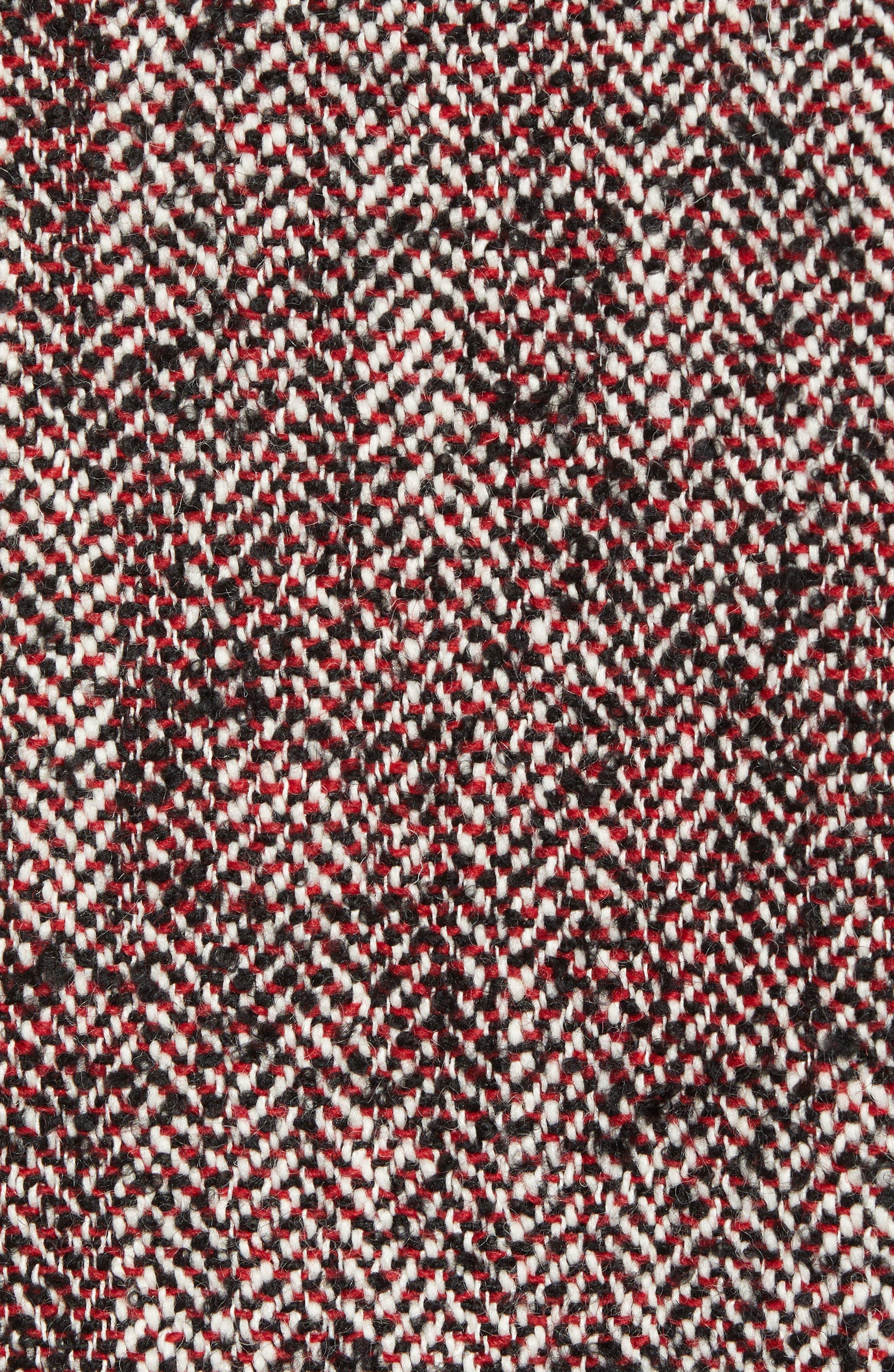 Herringbone Varsity Jacket,                             Alternate thumbnail 6, color,                             COMBO A