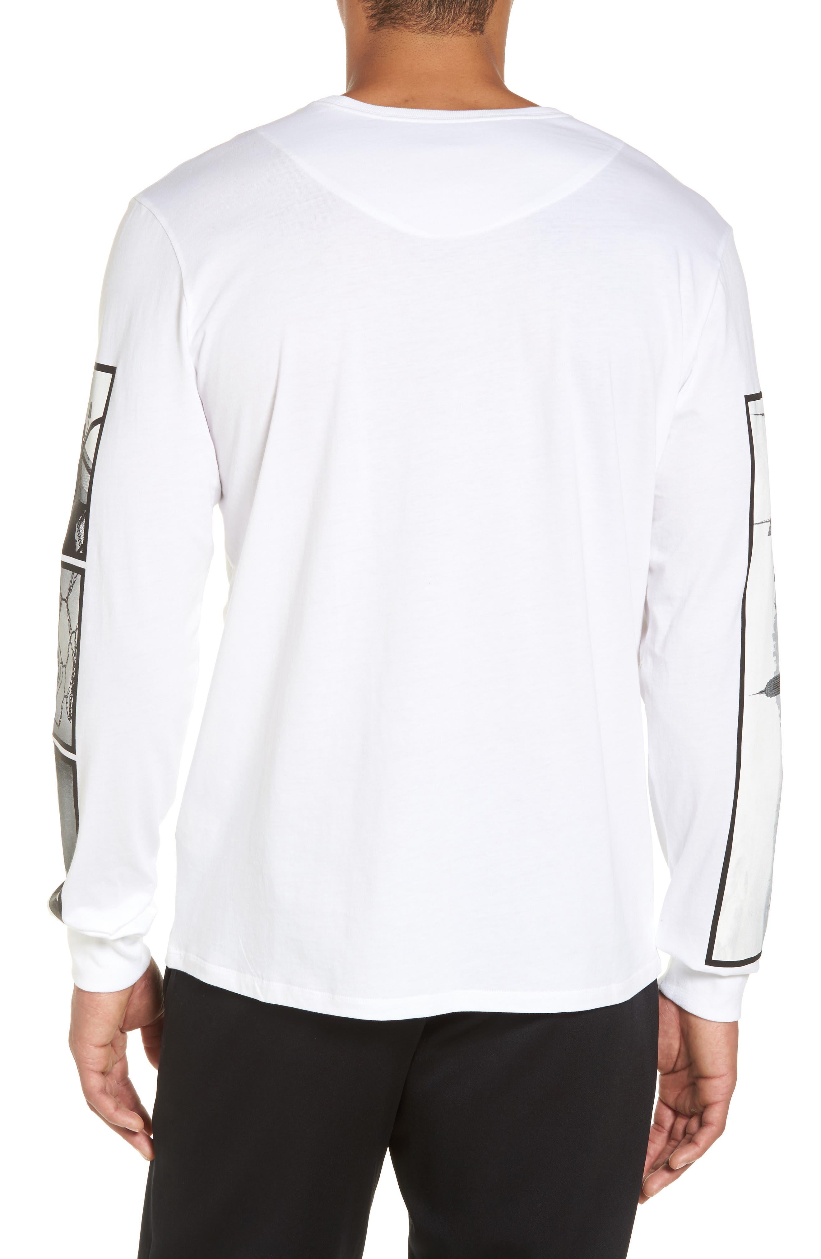 Air Force 1 Long Sleeve T-Shirt,                             Alternate thumbnail 4, color,