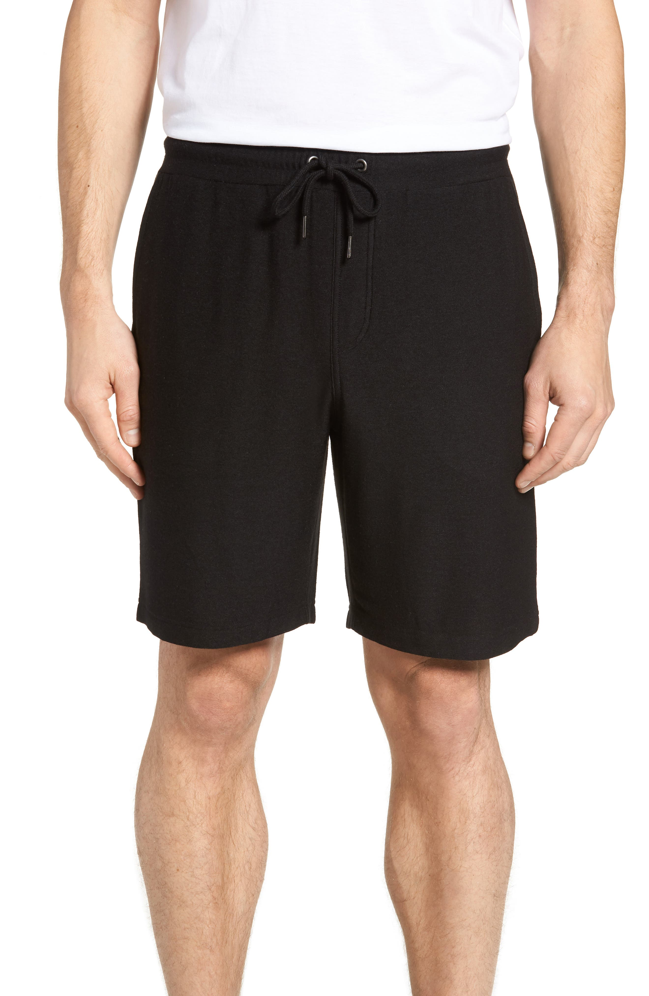 Lounge Shorts,                         Main,                         color, BLACK