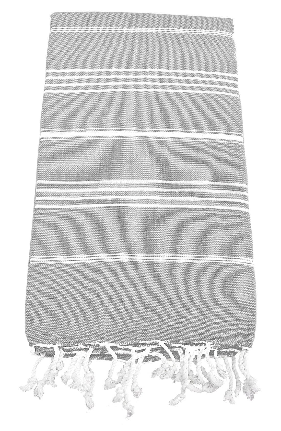 Monogram Turkish Cotton Towel,                             Main thumbnail 2, color,
