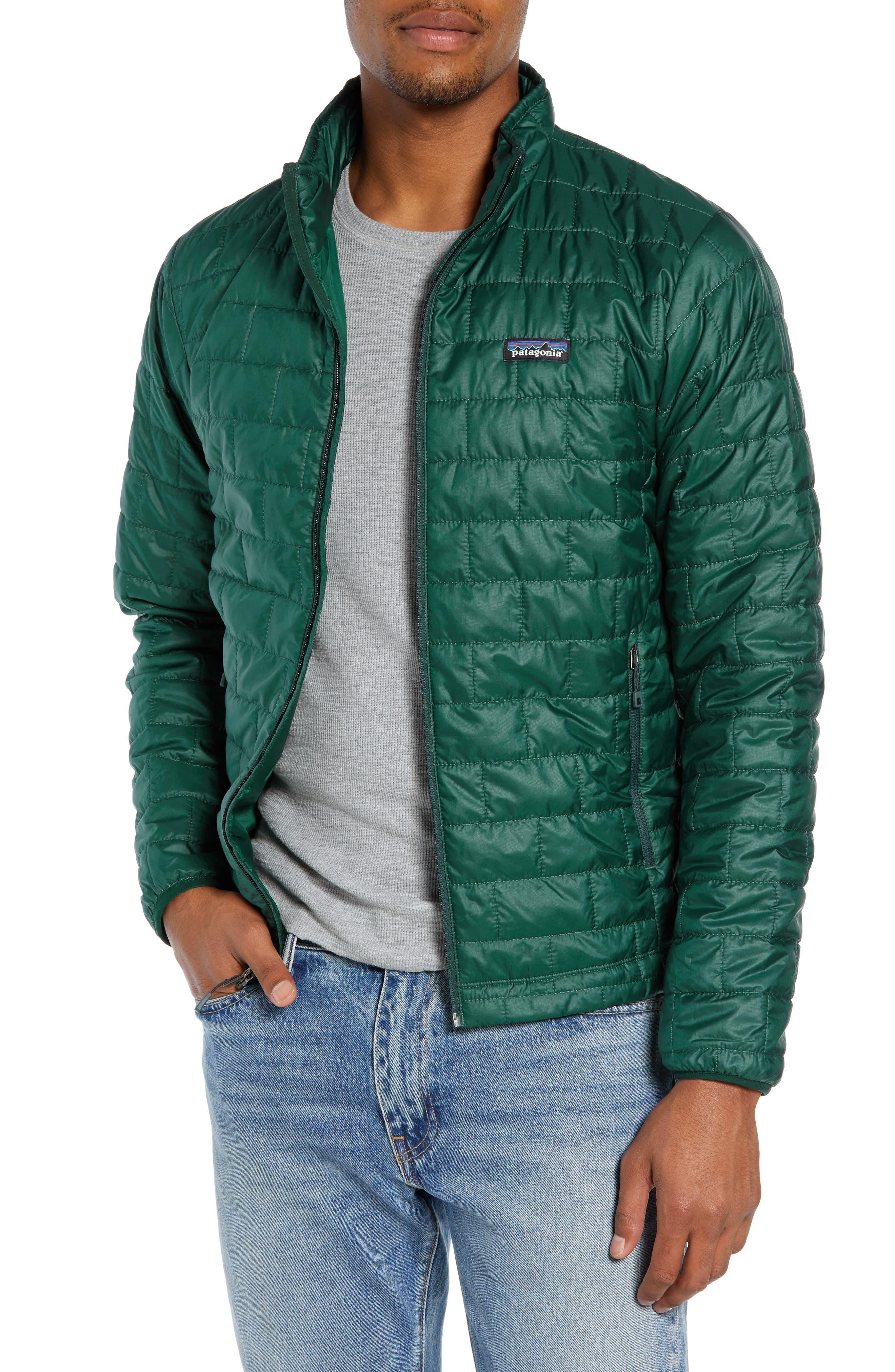 'Nano Puff<sup>®</sup>' Water Resistant Jacket,                             Main thumbnail 1, color,                             MICRO GREEN