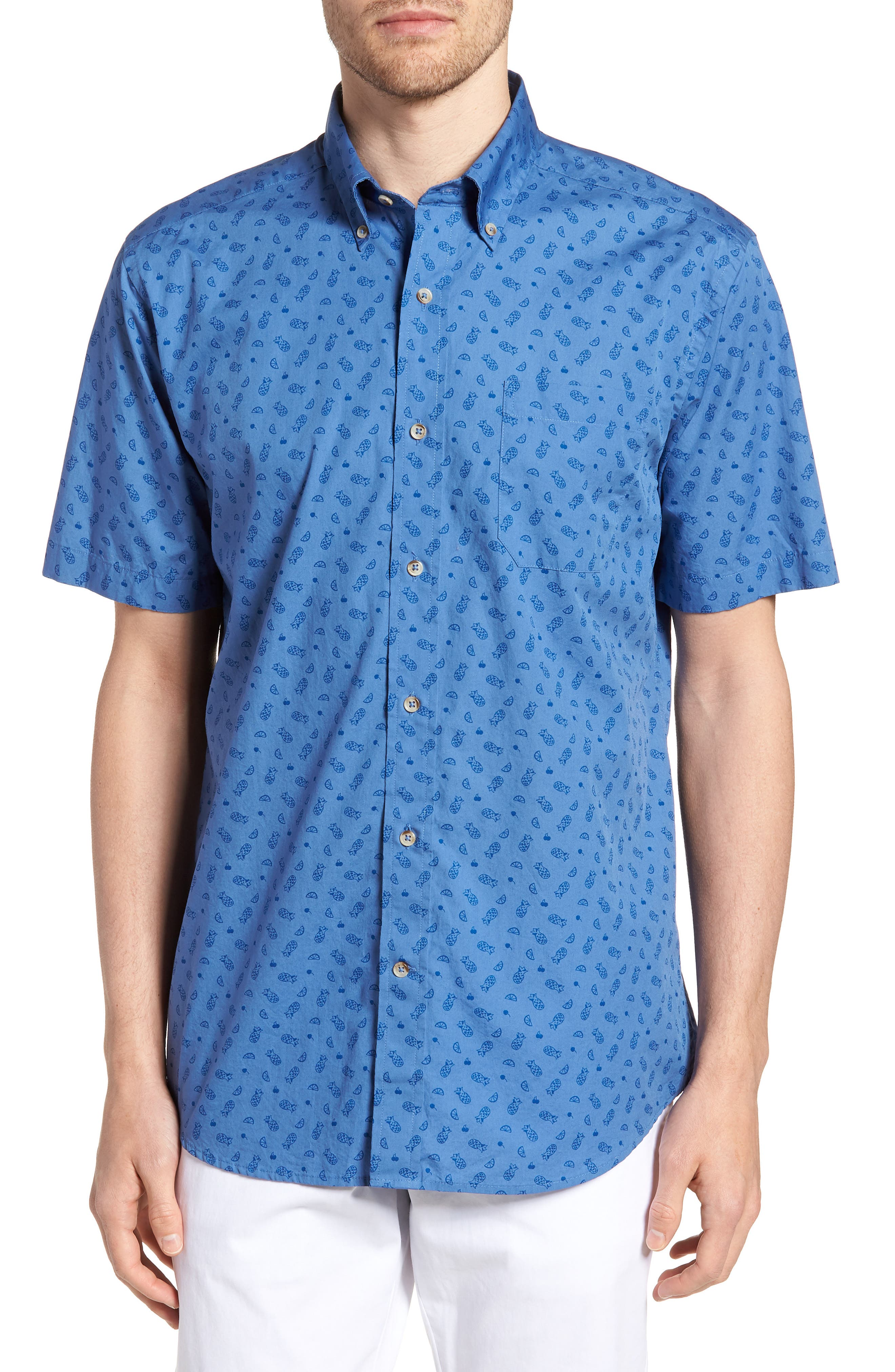 Island Vives Regular Fit Sport Shirt,                         Main,                         color, 466