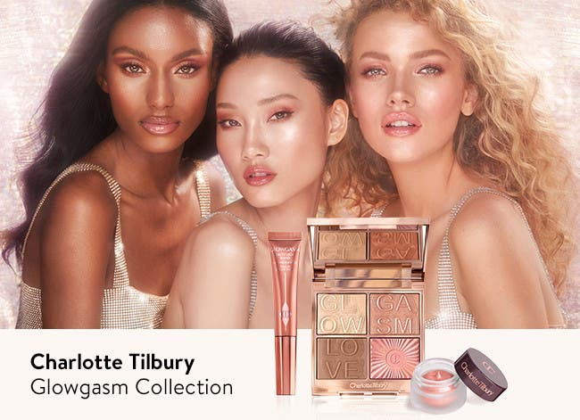 Charlotte Tilbury Glowgasm collection.