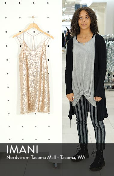 Strappy Sequin Slipdress, sales video thumbnail