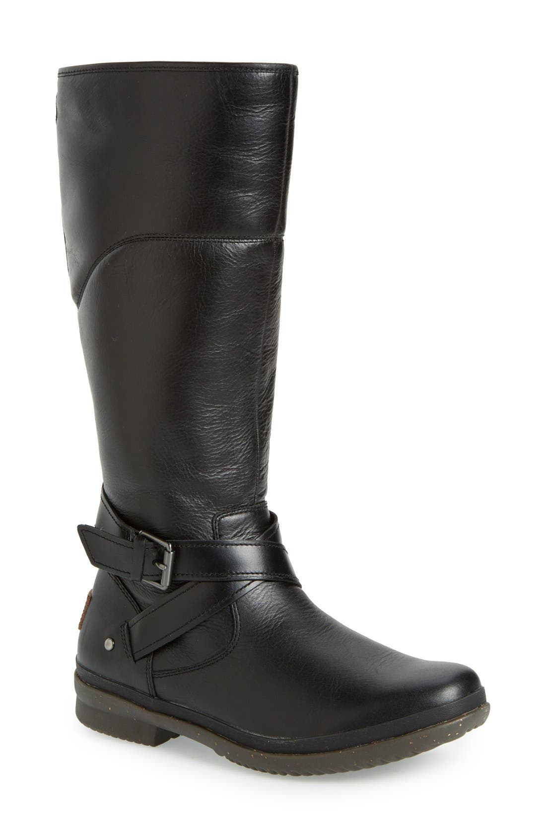Evanna Riding Boot,                         Main,                         color, 001