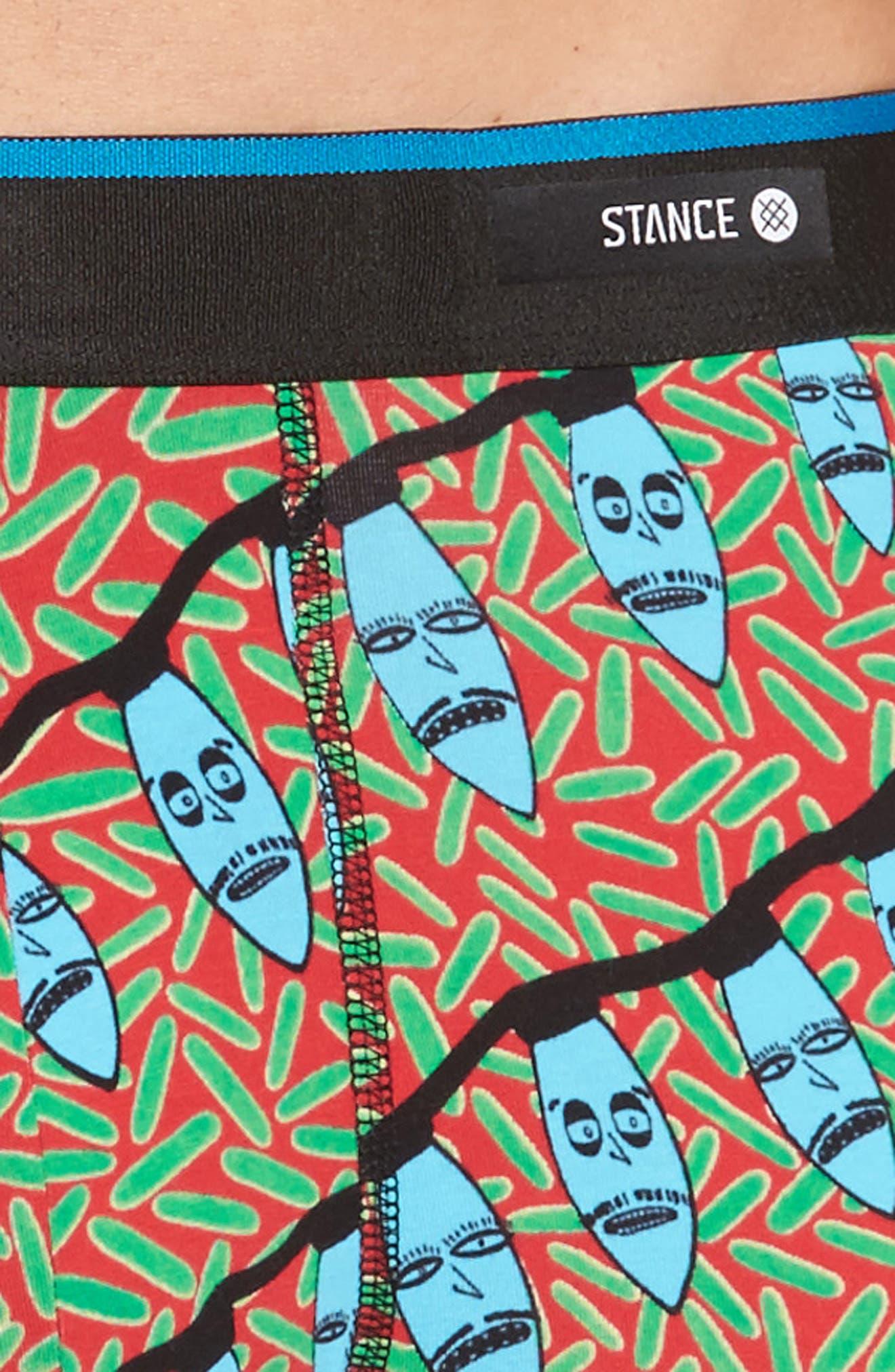 Creature Xmas Boxer Briefs,                             Alternate thumbnail 4, color,                             610