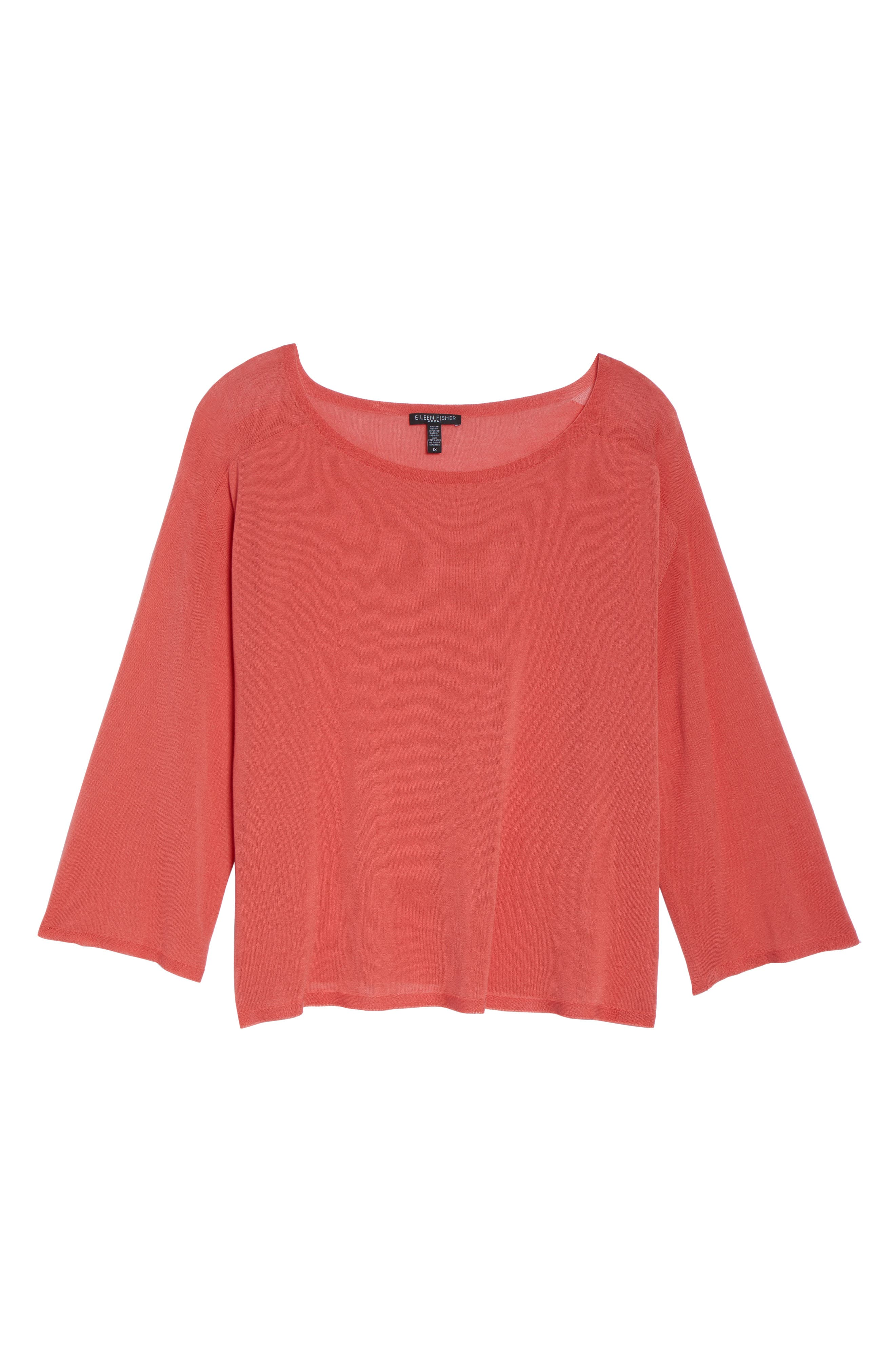 Tencel<sup>®</sup> Lyocell Lyocell Knit Sweater,                             Alternate thumbnail 12, color,