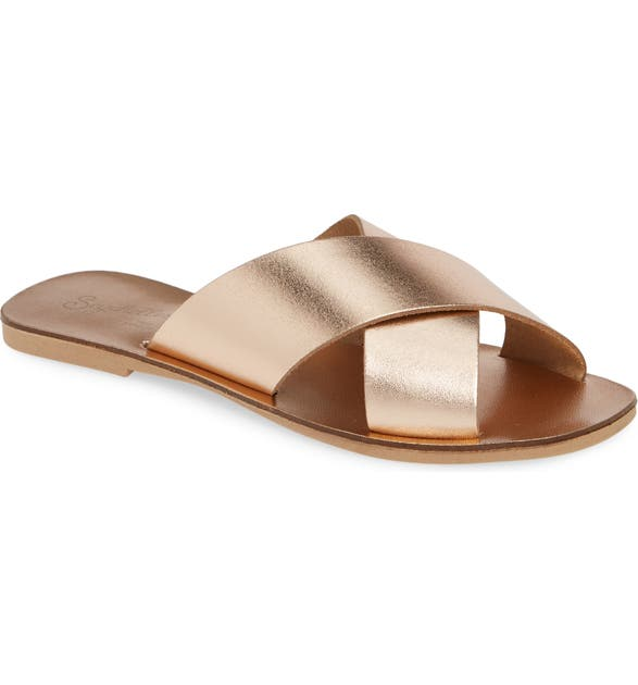 Seychelles Sandals TOTAL RELAXATION SLIDE SANDAL
