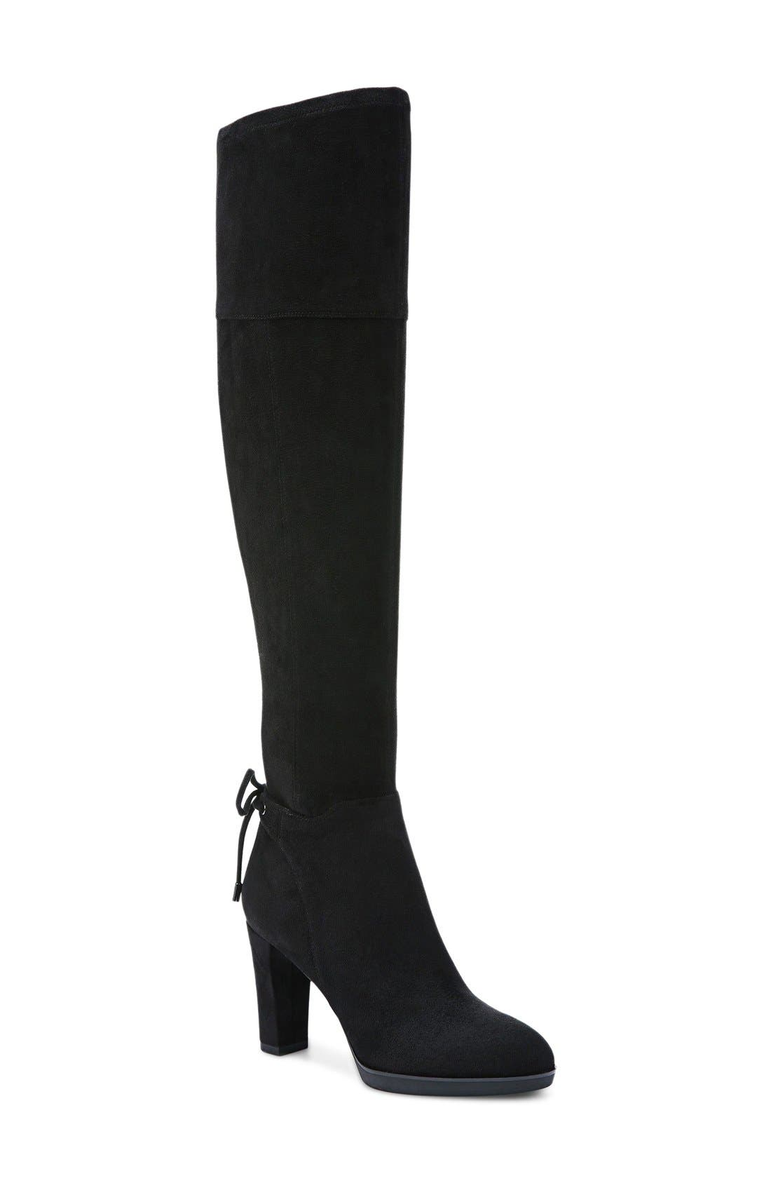 Ivanea Over the Knee Boot,                             Main thumbnail 1, color,                             001