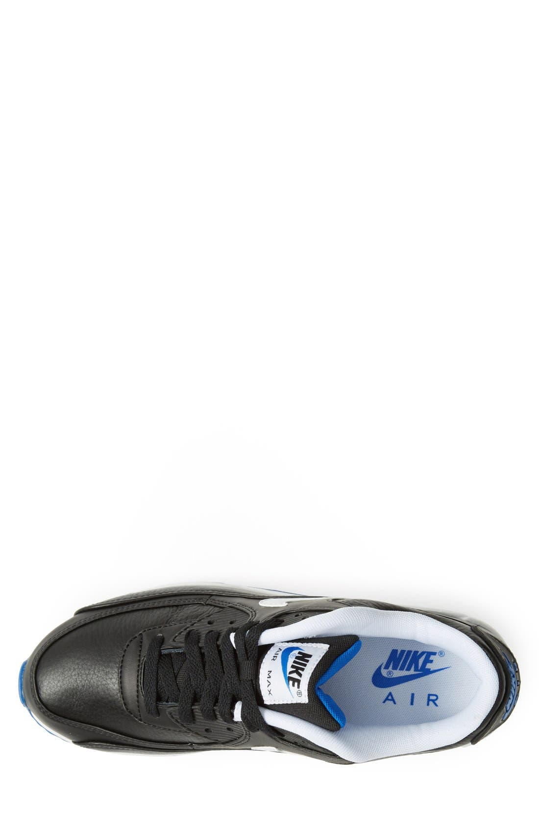 NIKE,                             'Air Max 90 LTR' Sneaker,                             Alternate thumbnail 4, color,                             001