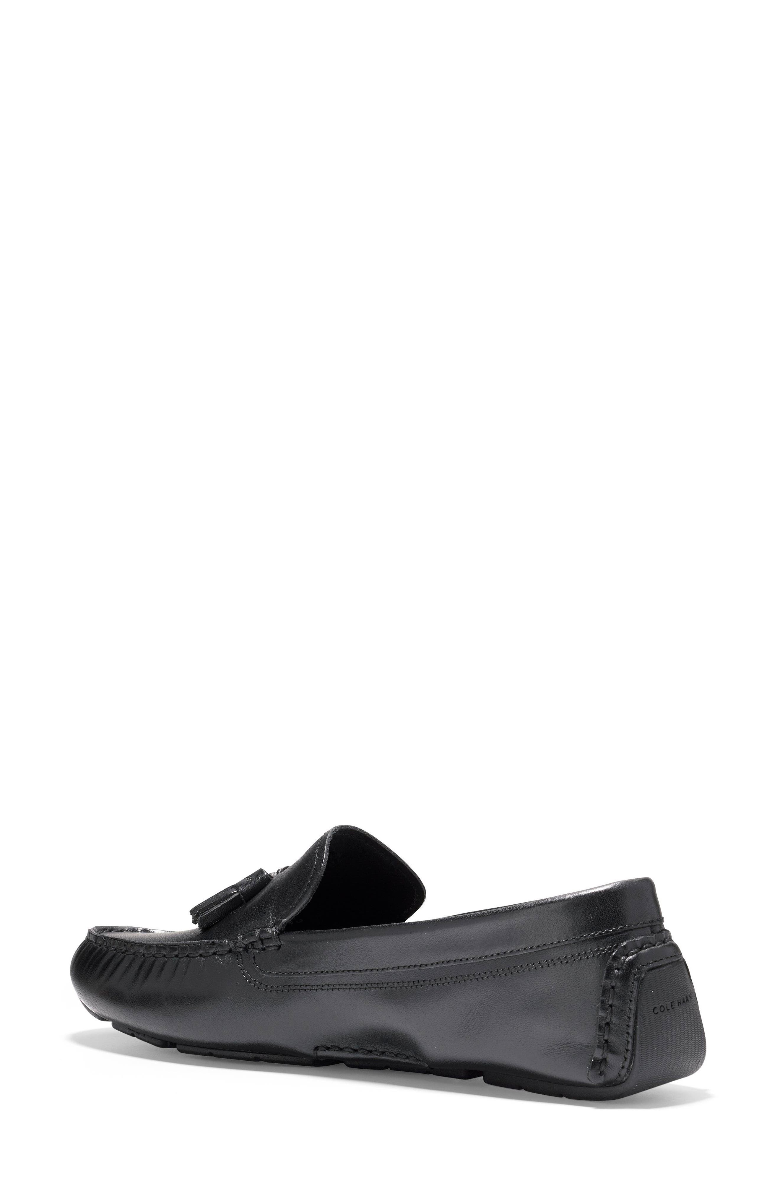 Rodeo Tassel Driving Loafer,                             Alternate thumbnail 2, color,                             001