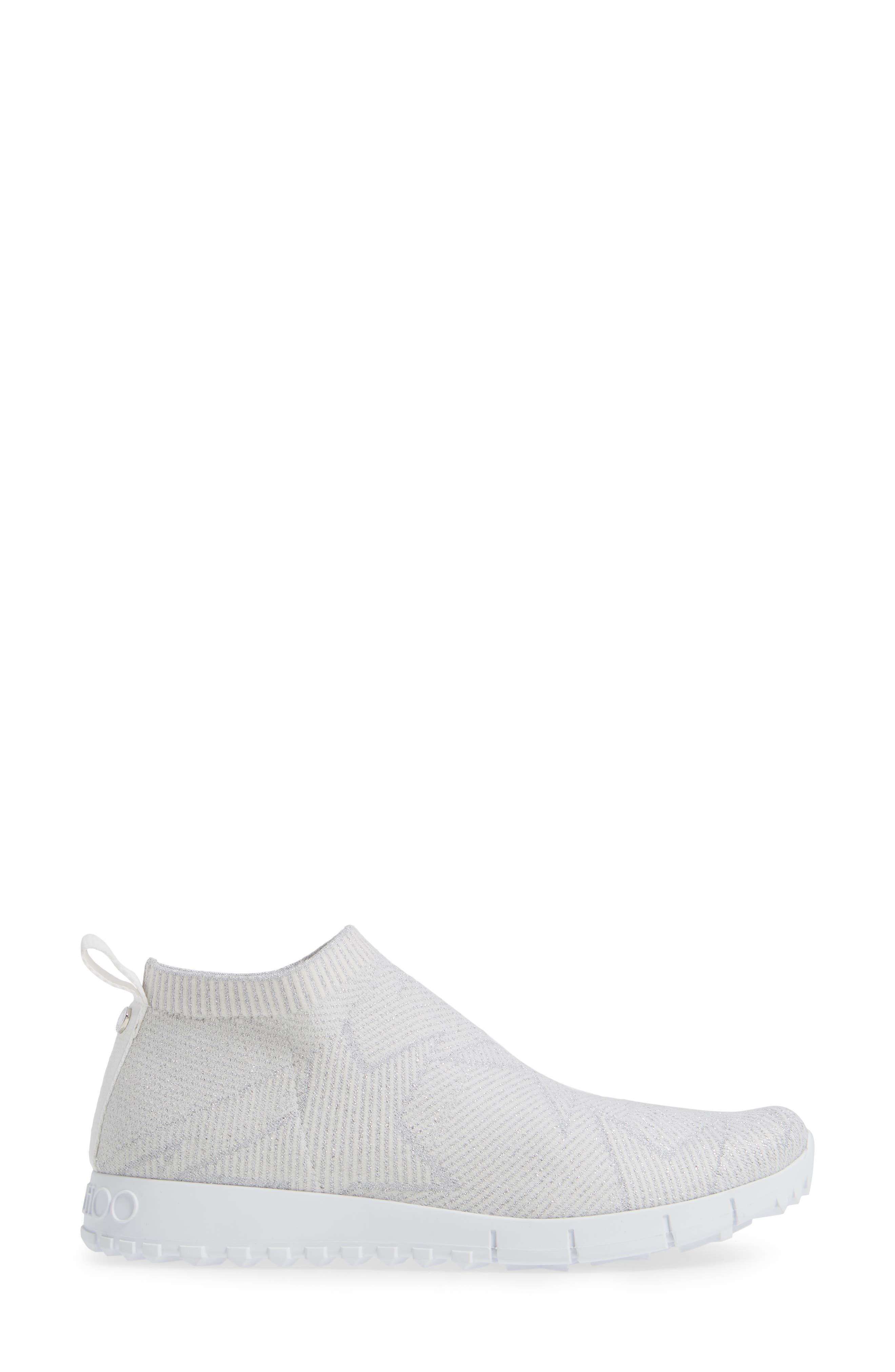 Norway Star Slip-On Sneaker,                             Alternate thumbnail 3, color,                             WHITE