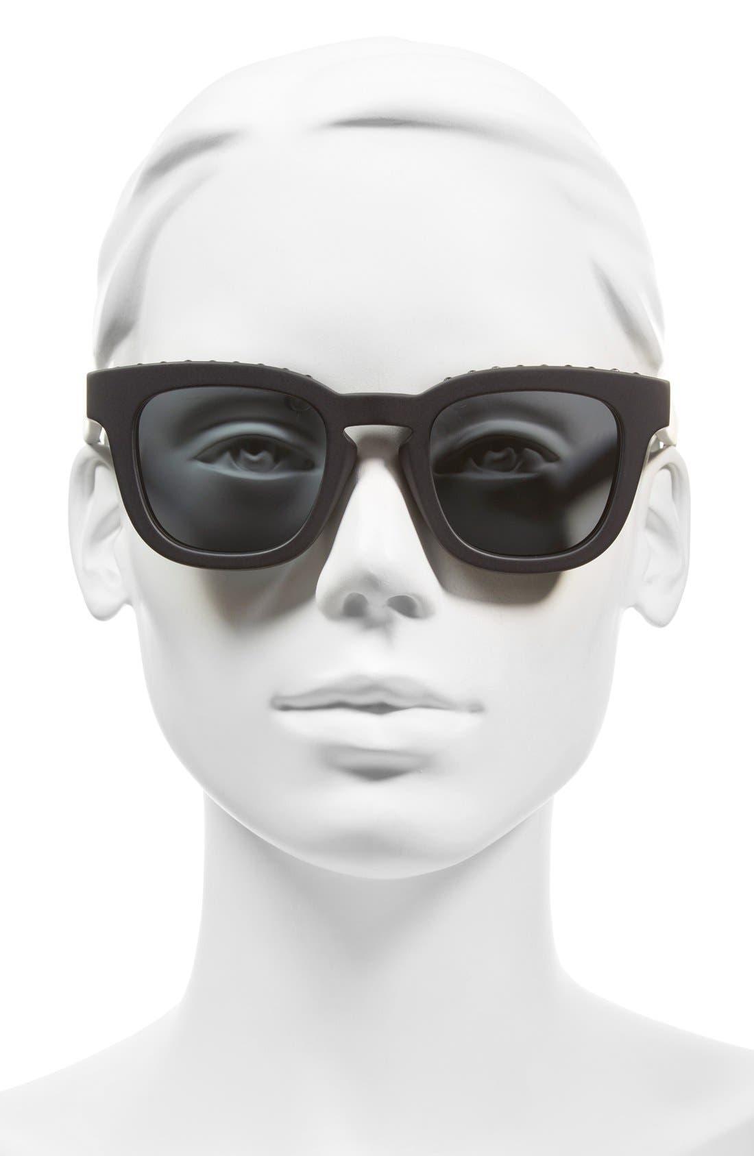 48mm Sunglasses,                             Alternate thumbnail 2, color,                             001
