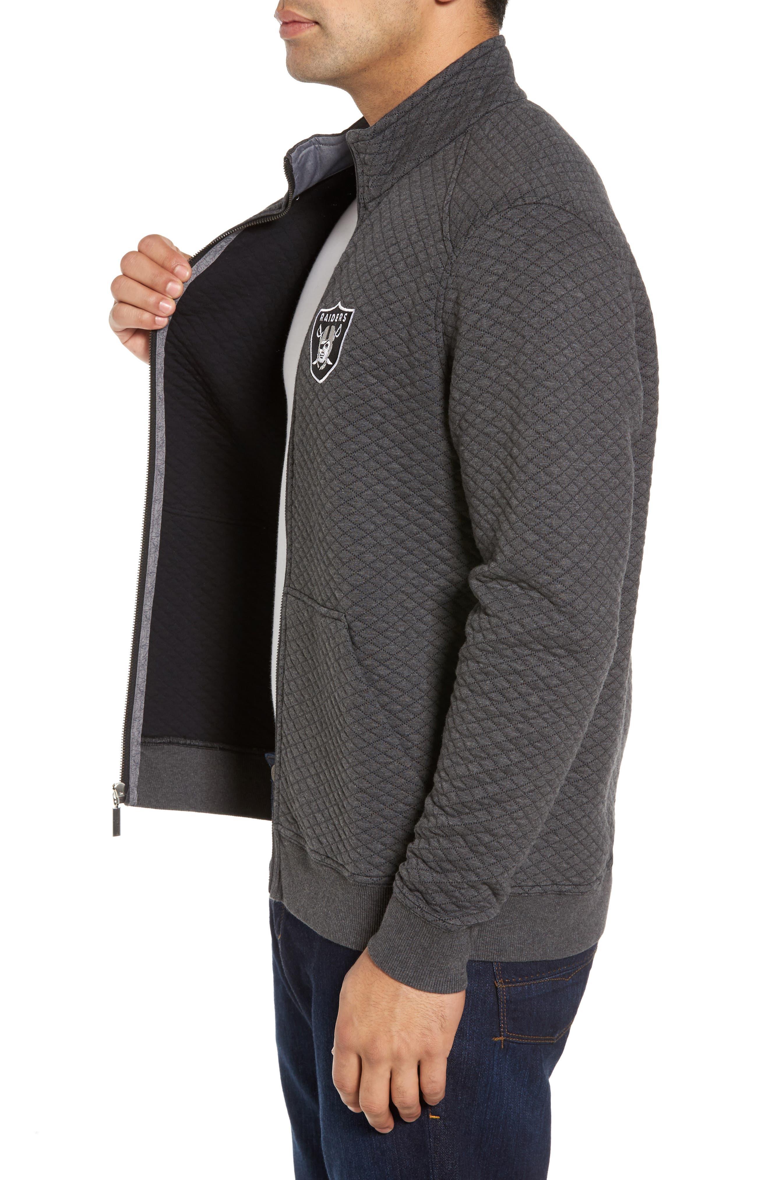 NFL Quiltessential Full Zip Sweatshirt,                             Alternate thumbnail 85, color,