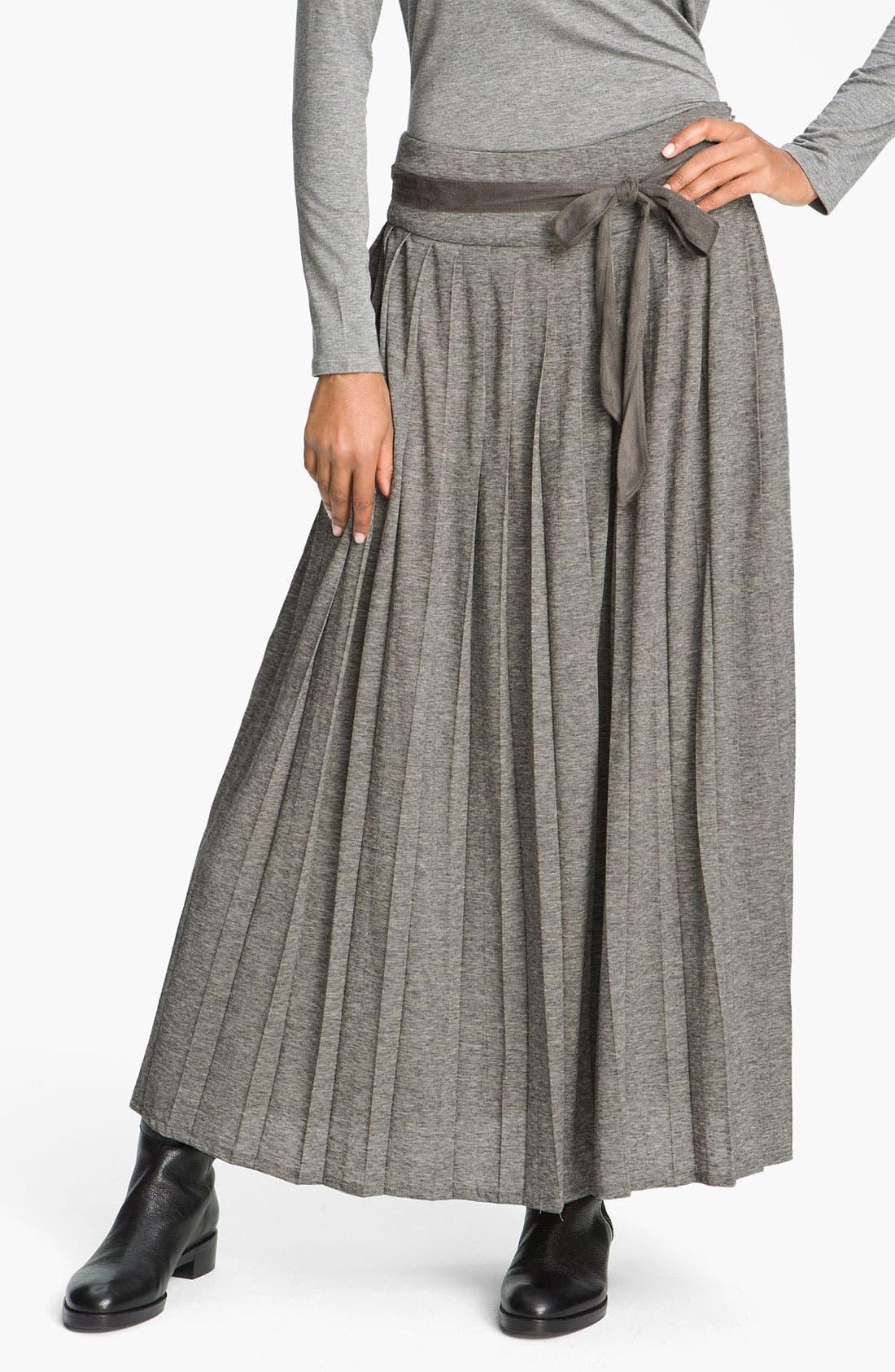 'Amburgo' Jersey Skirt,                             Main thumbnail 1, color,                             054