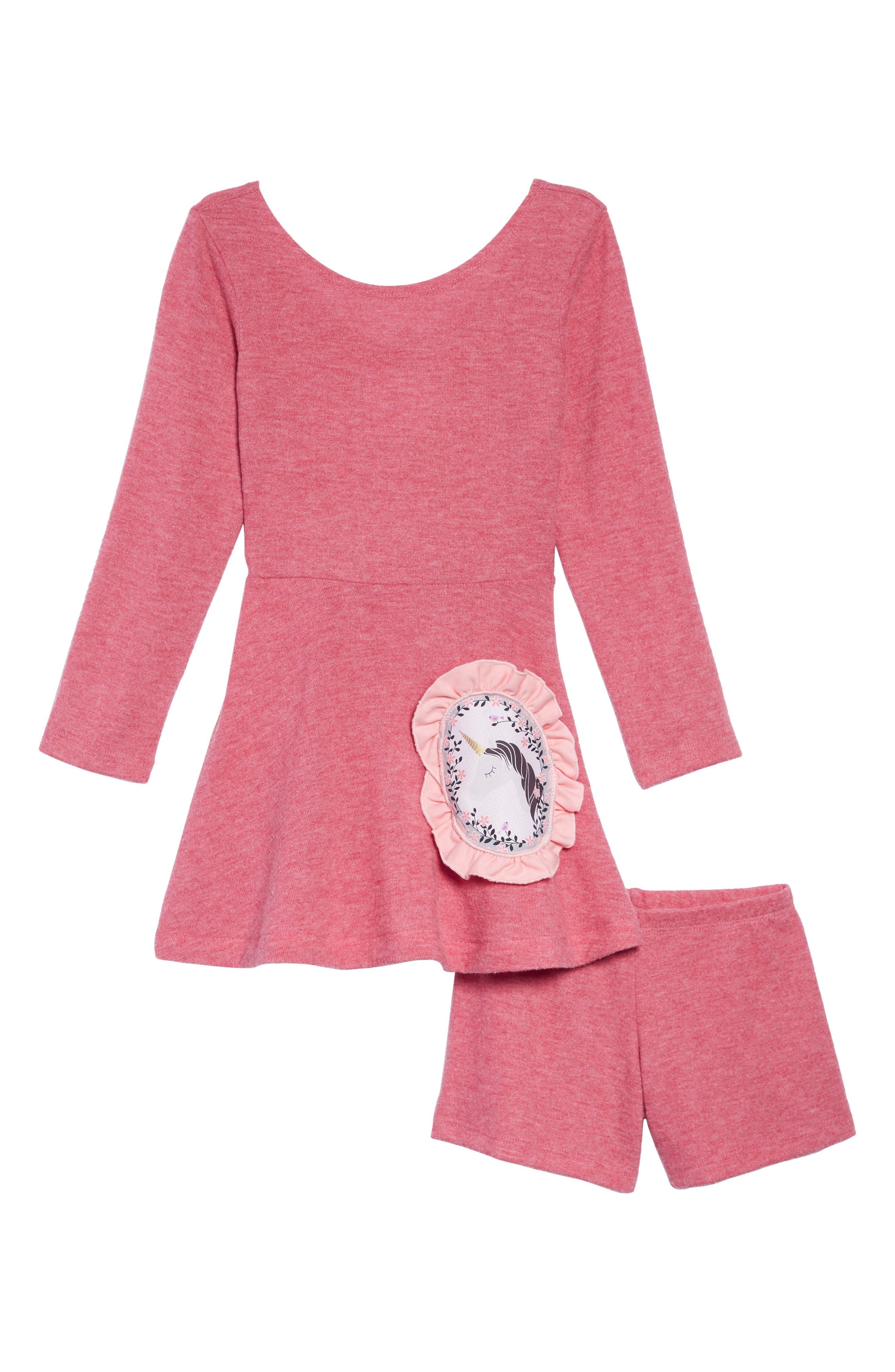 FIVELOAVES TWOFISH Knit Skater Dress, Main, color, 650