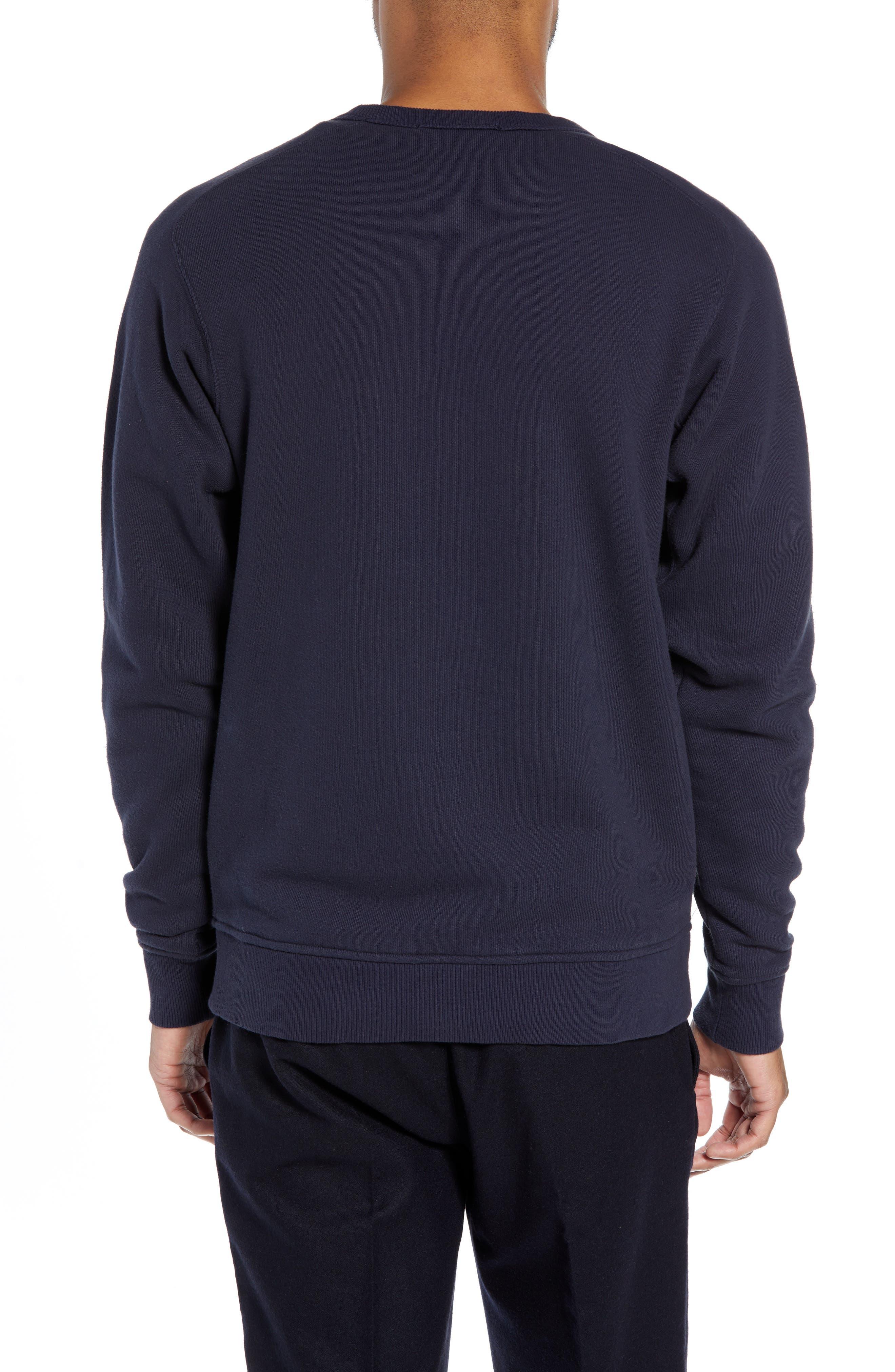 Almost Grown Crewneck Sweatshirt,                             Alternate thumbnail 2, color,                             NAVY