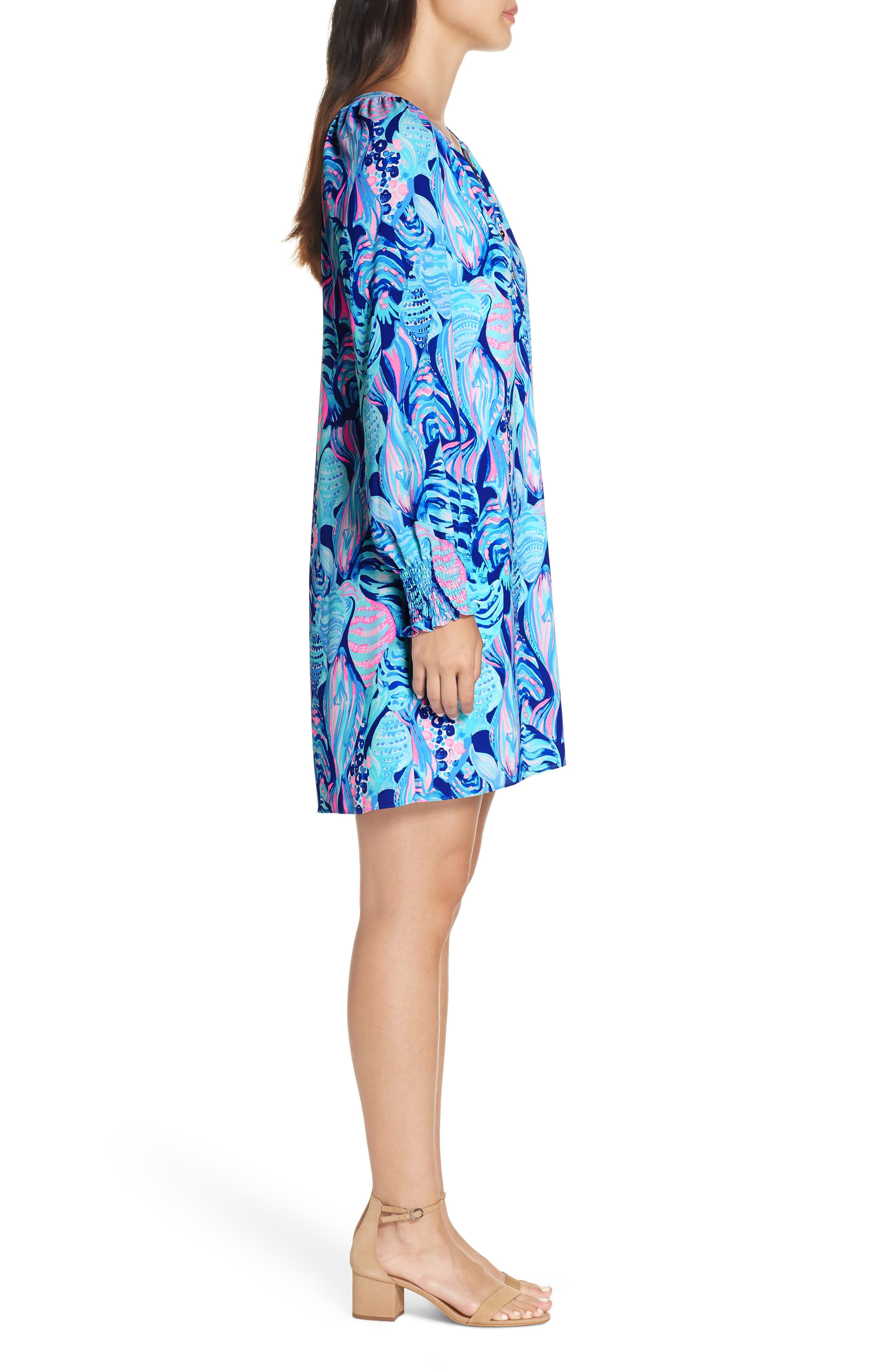 LILLY PULITZER<SUP>®</SUP>,                             Brynle Shift Dress,                             Alternate thumbnail 3, color,                             403