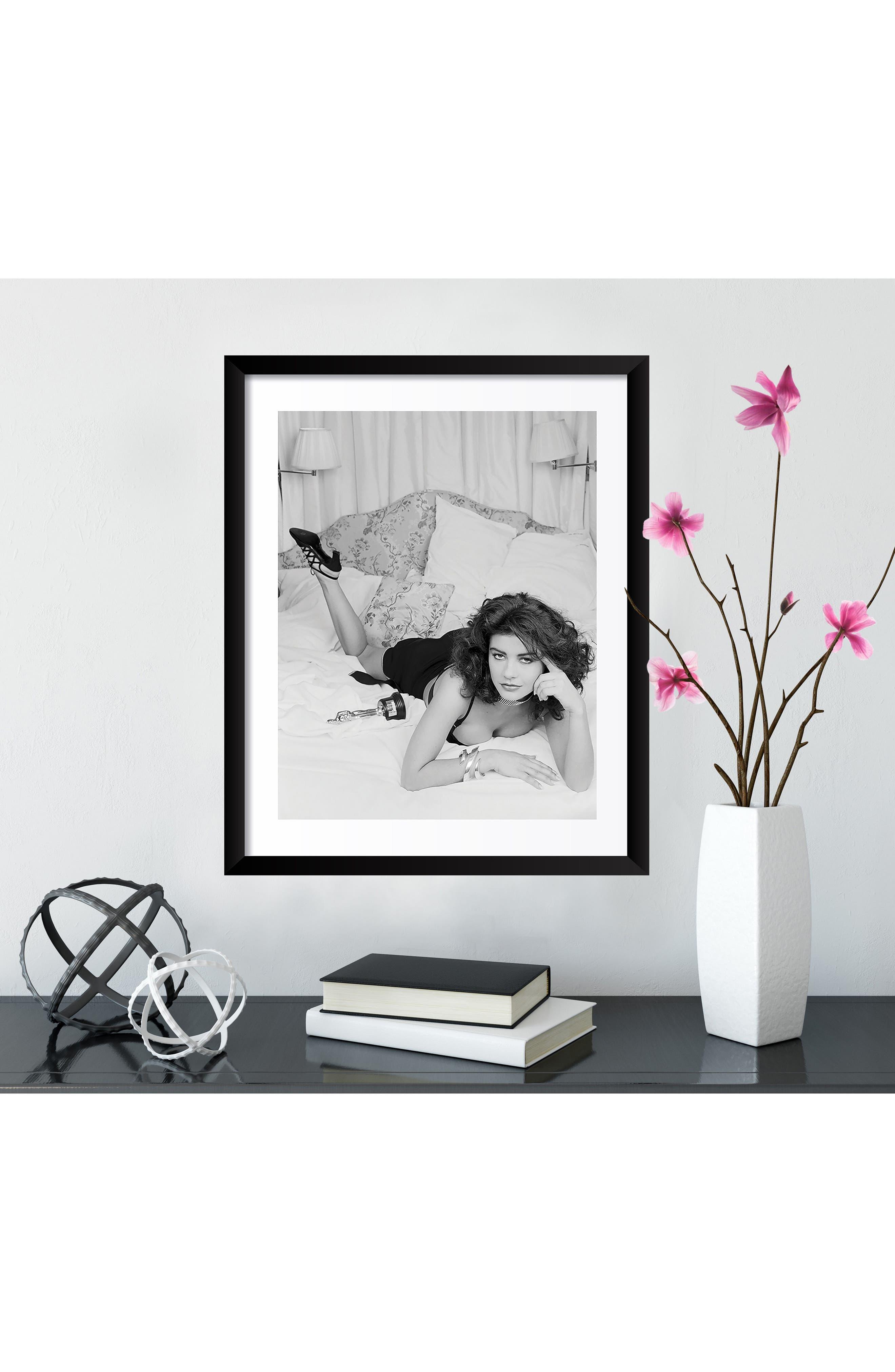 Catherine Zeta Jones Fine Art Print,                             Alternate thumbnail 3, color,                             001