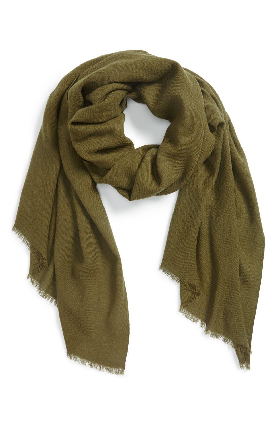 Wool & Cashmere Wrap,                             Main thumbnail 8, color,