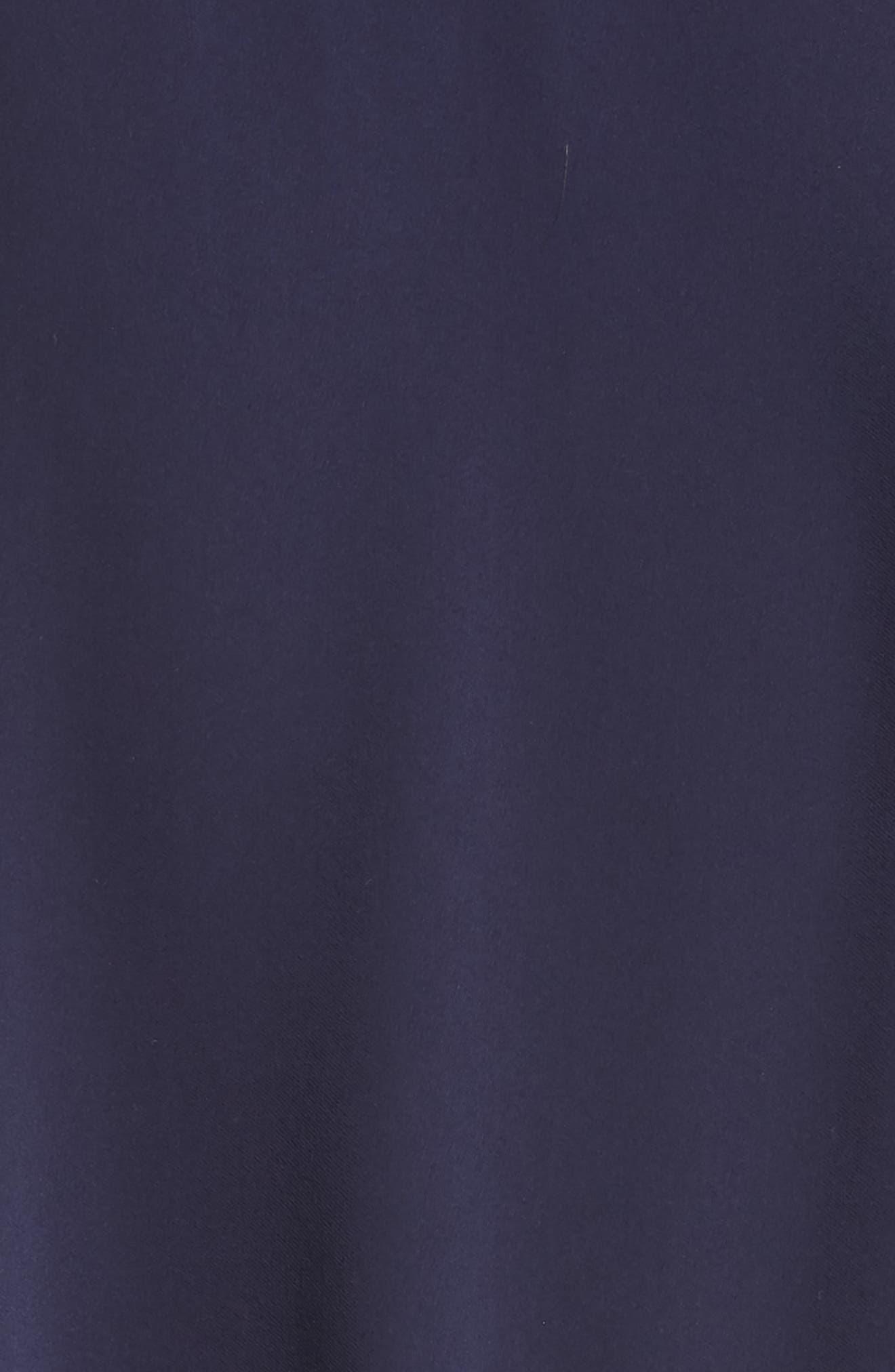 Belted Midi Shirtdress,                             Alternate thumbnail 6, color,                             CRUISE NAVY