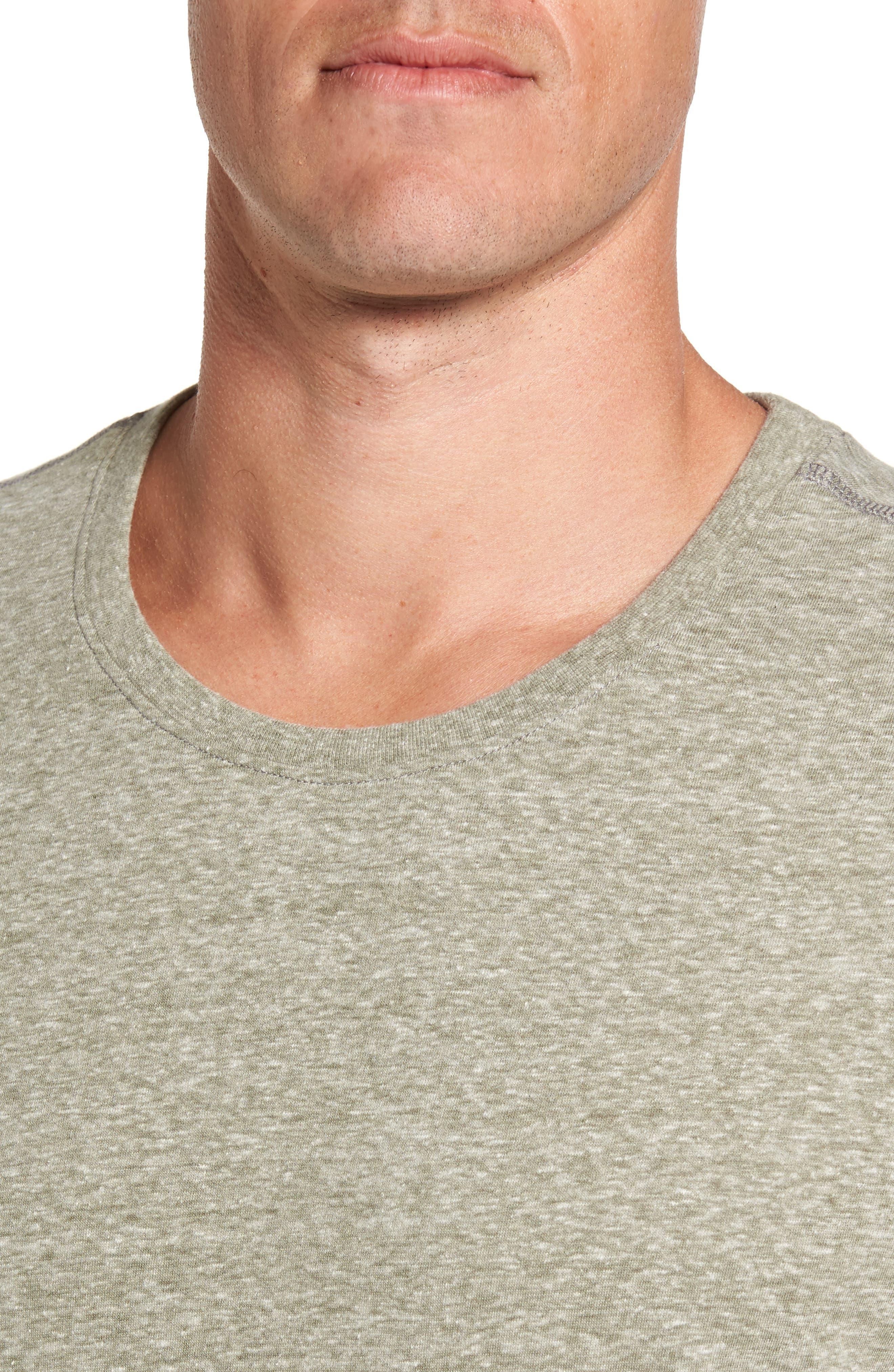 Cotton Blend T-Shirt,                             Alternate thumbnail 4, color,                             301