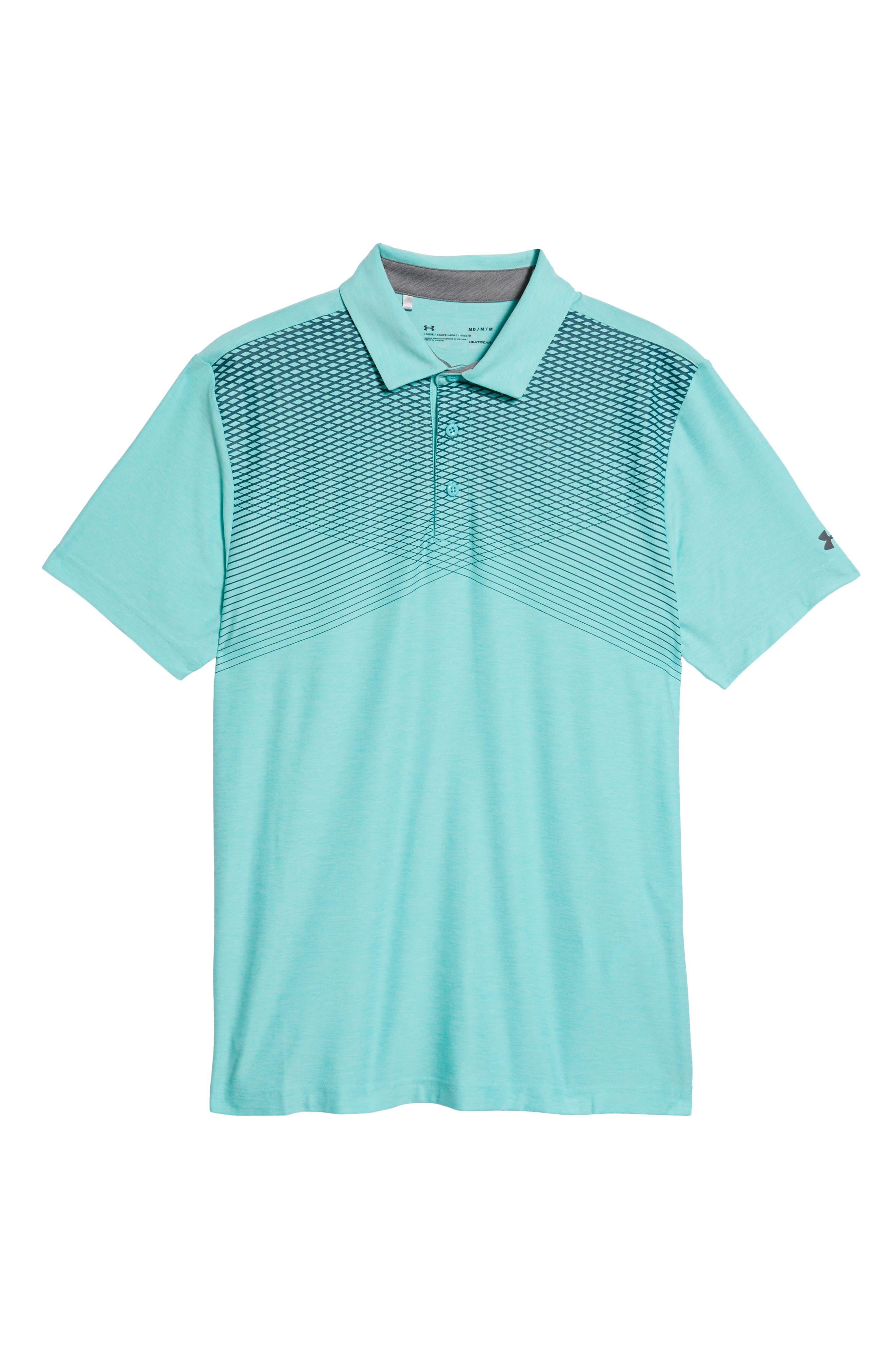 'Playoff' Loose Fit Short Sleeve Polo,                             Alternate thumbnail 295, color,