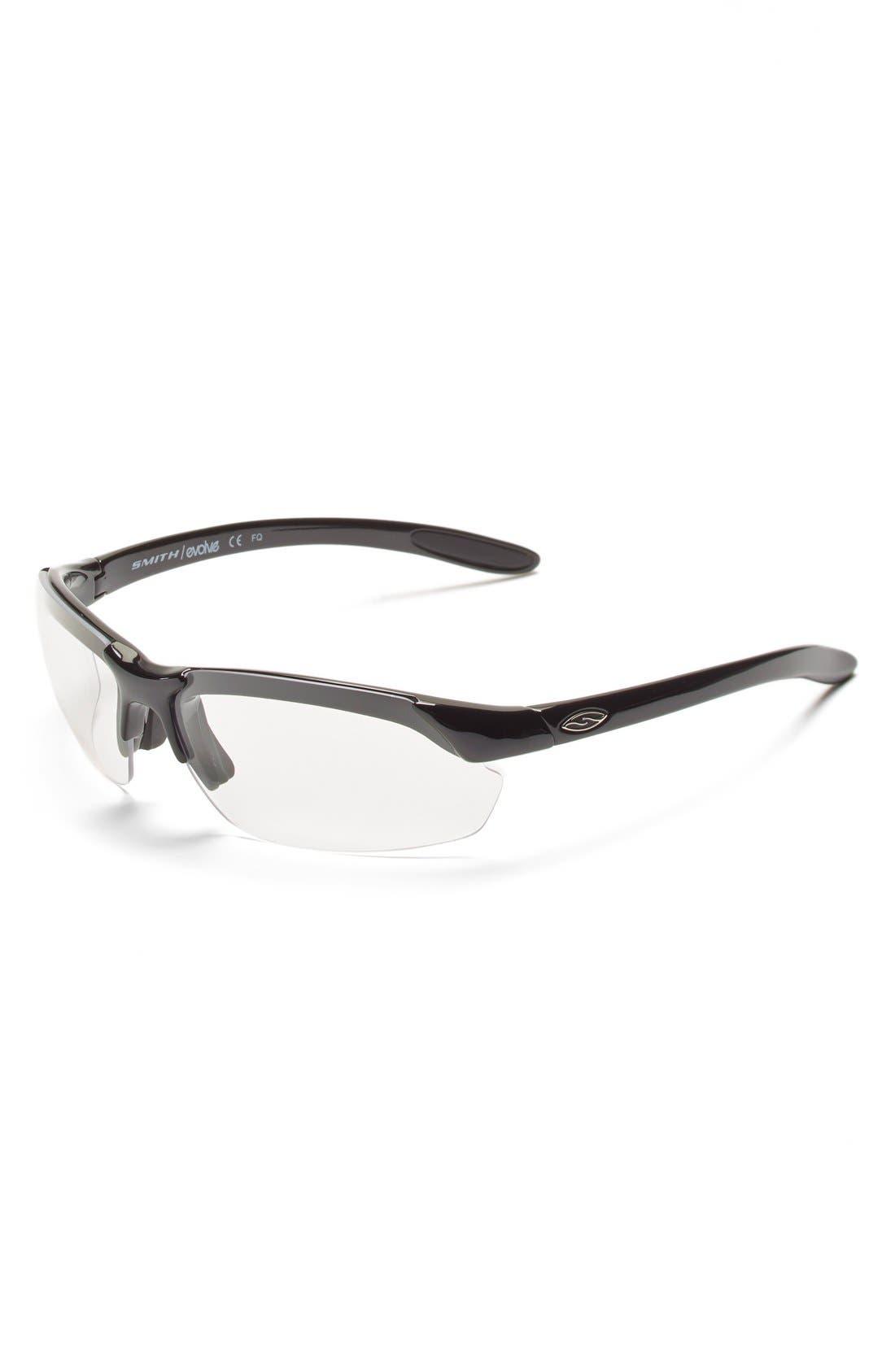 'Parallel Max' 65mm Polarized Sunglasses,                             Alternate thumbnail 4, color,                             001