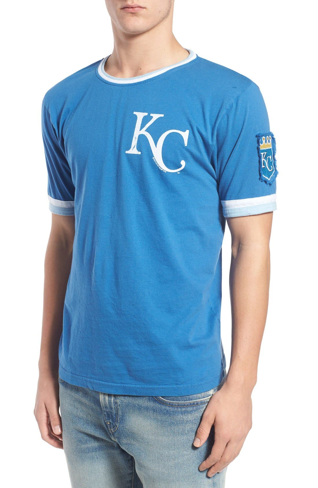 'Kansas City Royals - Remote Control' Trim Fit T-Shirt,                             Main thumbnail 1, color,                             450