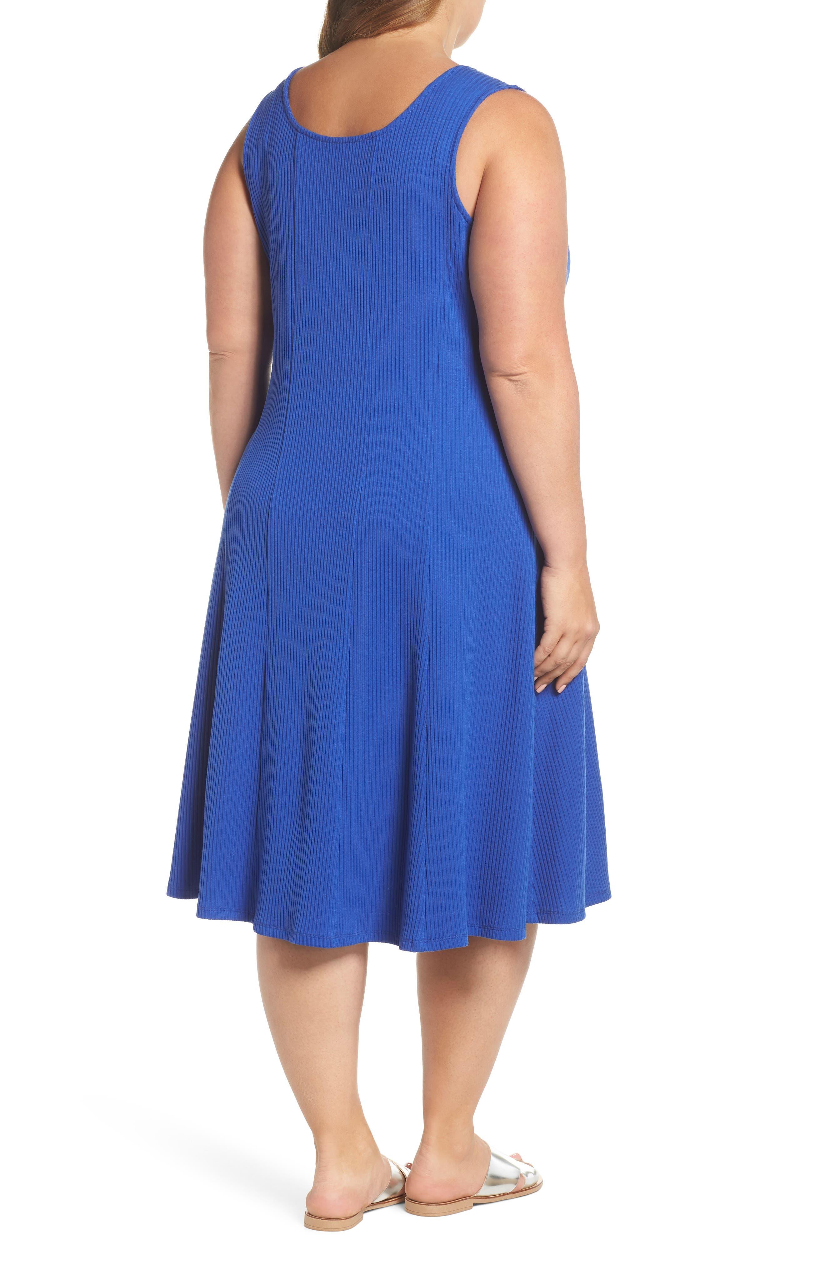 Rib Tank Dress,                             Alternate thumbnail 2, color,                             424