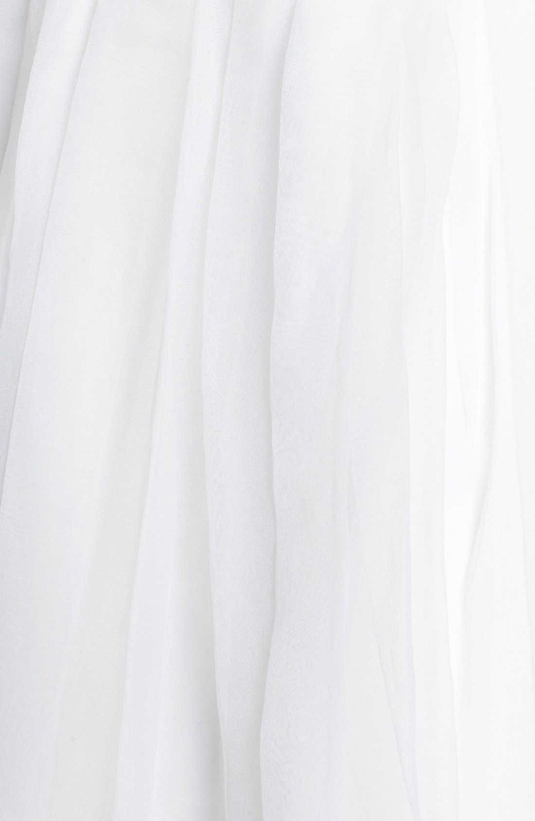 ,                             Kelly Faetanini Silk Organza Dress & Accessories,                             Alternate thumbnail 3, color,                             900