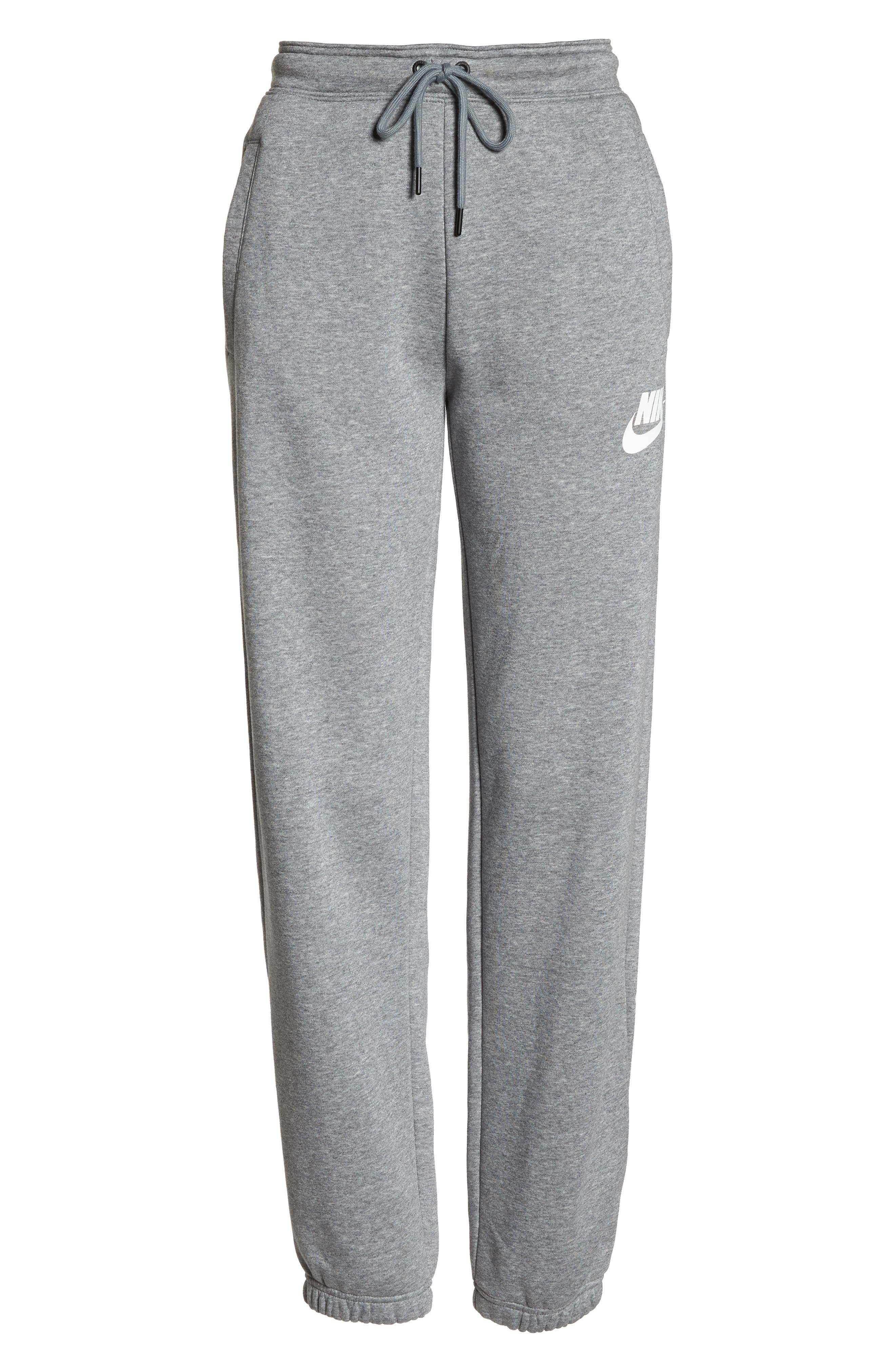NSW Rally Pants,                             Alternate thumbnail 7, color,                             CARBON HEATHER/ COOL GREY