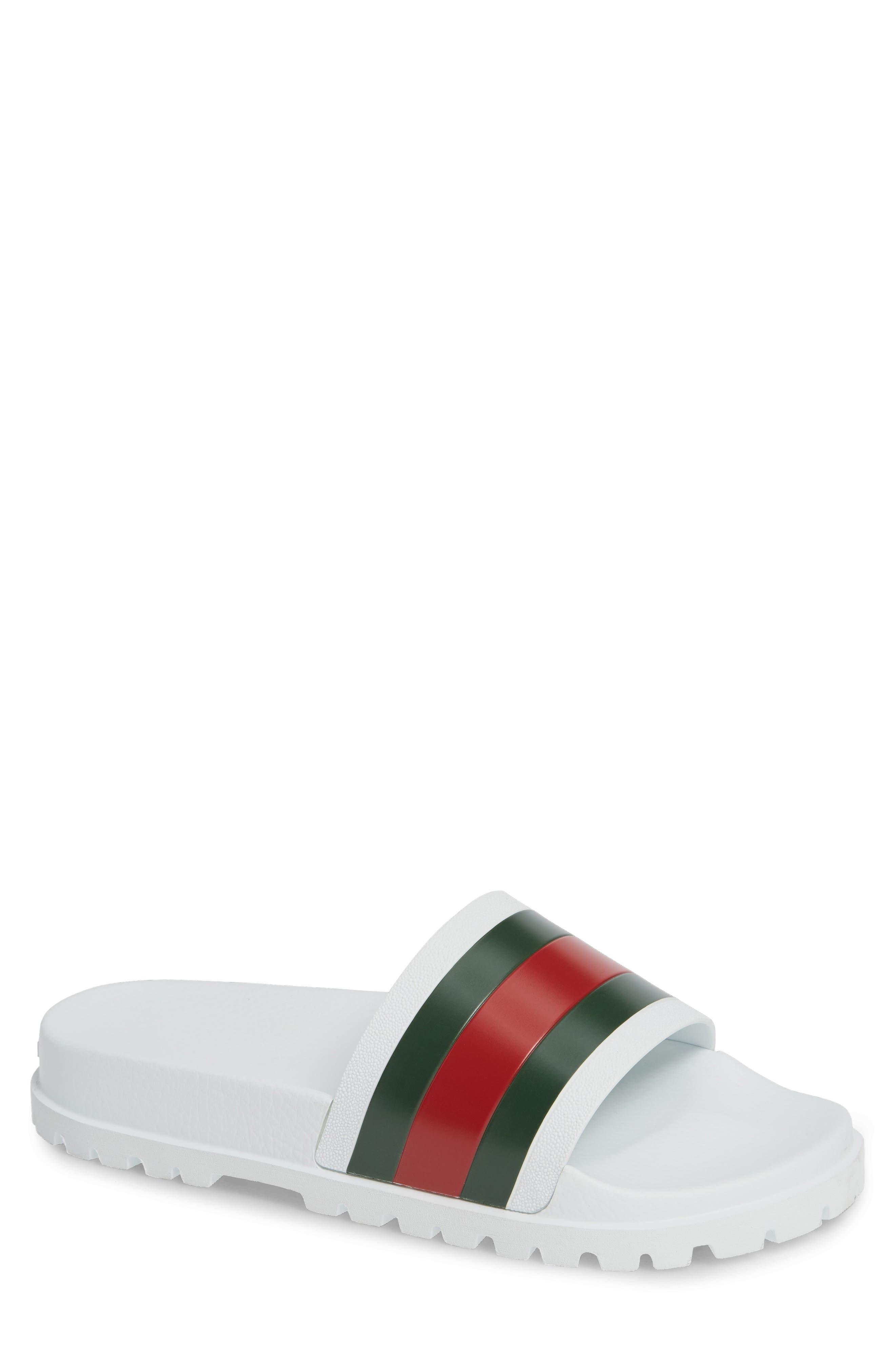 'Pursuit Treck' Slide Sandal,                             Main thumbnail 1, color,                             GREAT WHITE