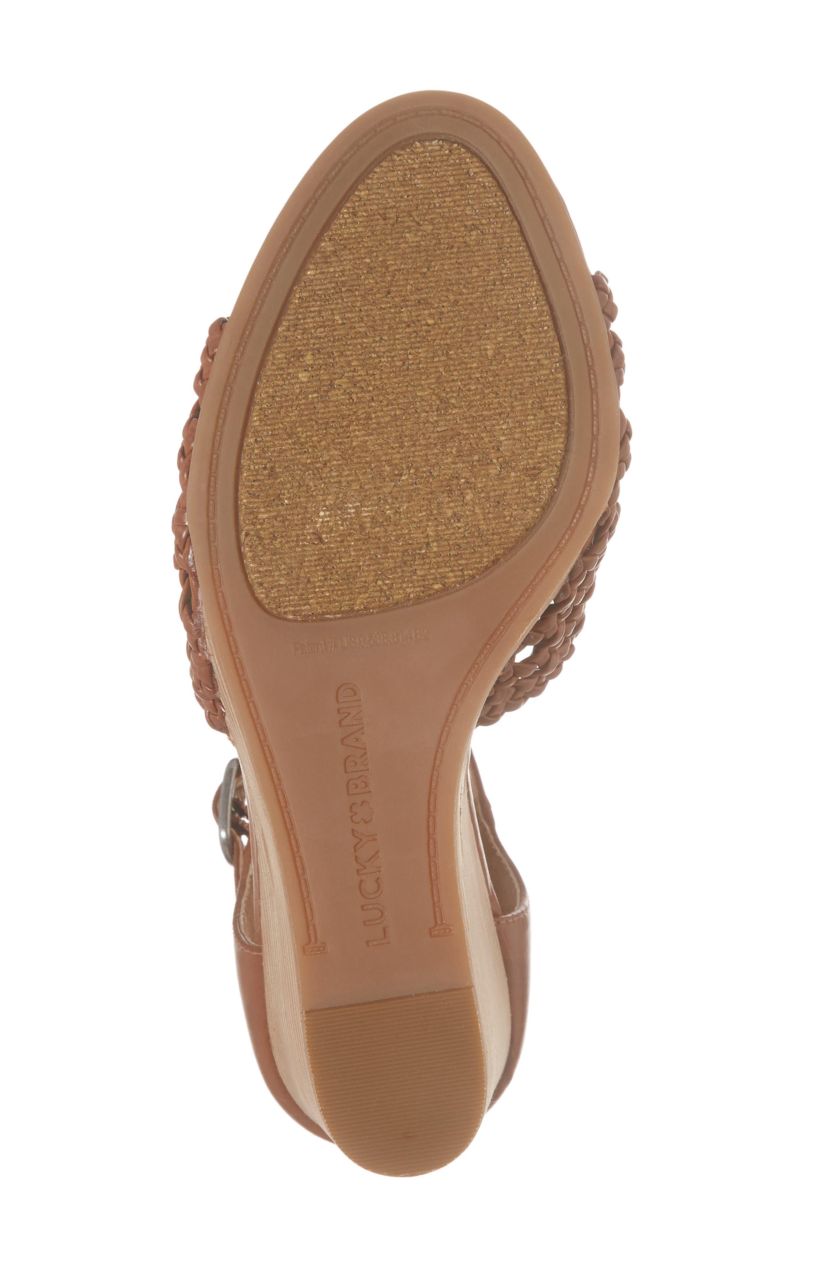 Rabekka Wedge Sandal,                             Alternate thumbnail 12, color,