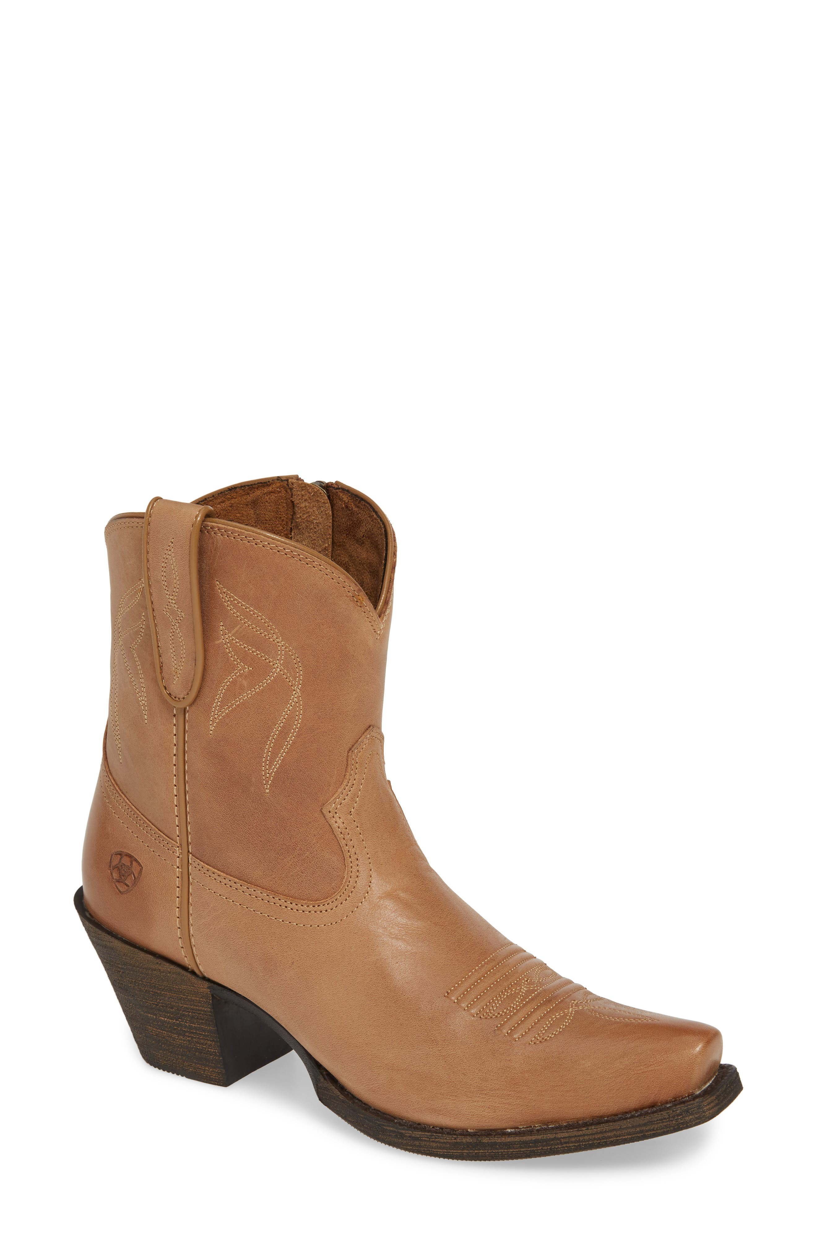 Ariat Lovely Western Boot- Brown