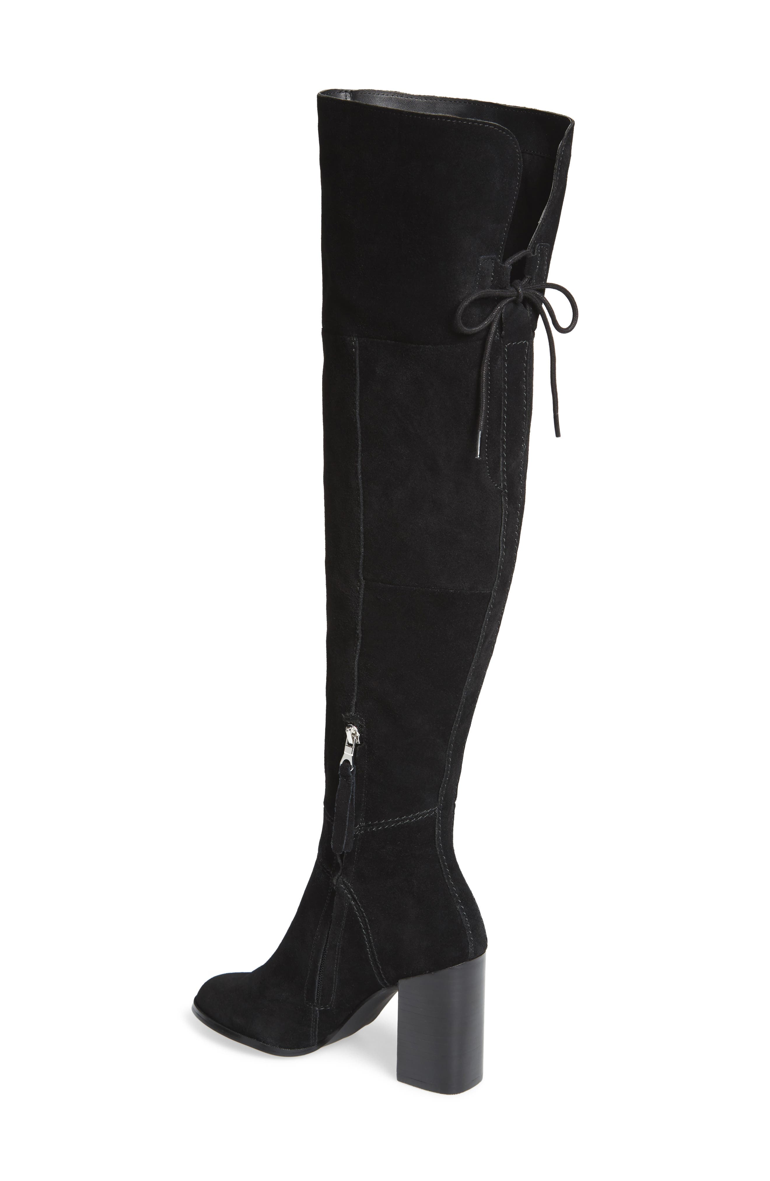 Novela Cuffable Over the Knee Boot,                             Alternate thumbnail 3, color,