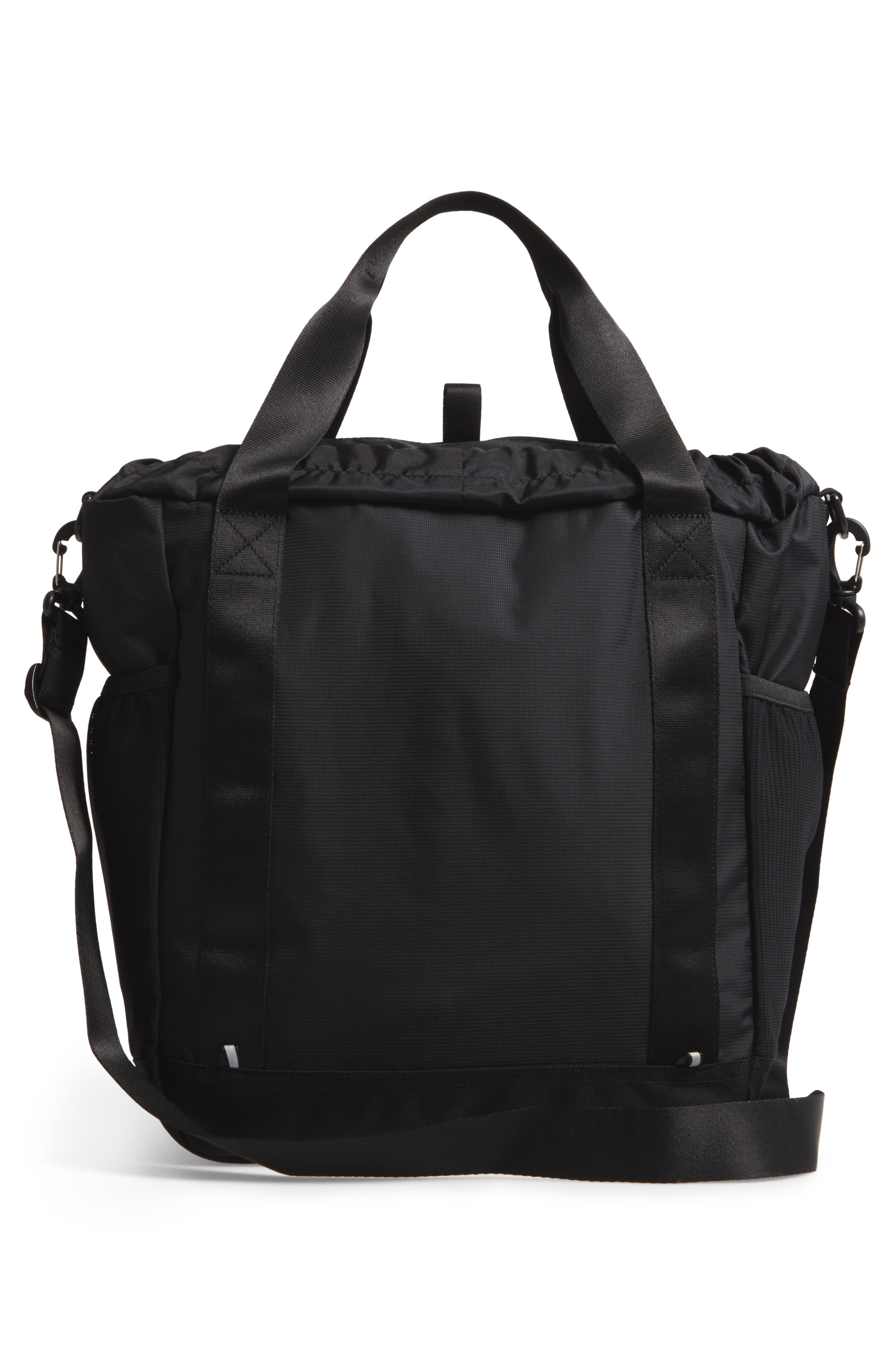 Barnes Trail Tote Bag,                             Alternate thumbnail 3, color,                             BLACK