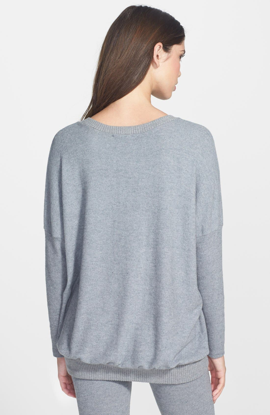 'Cozy Time' Slouchy Long Sleeve Tee,                             Alternate thumbnail 20, color,