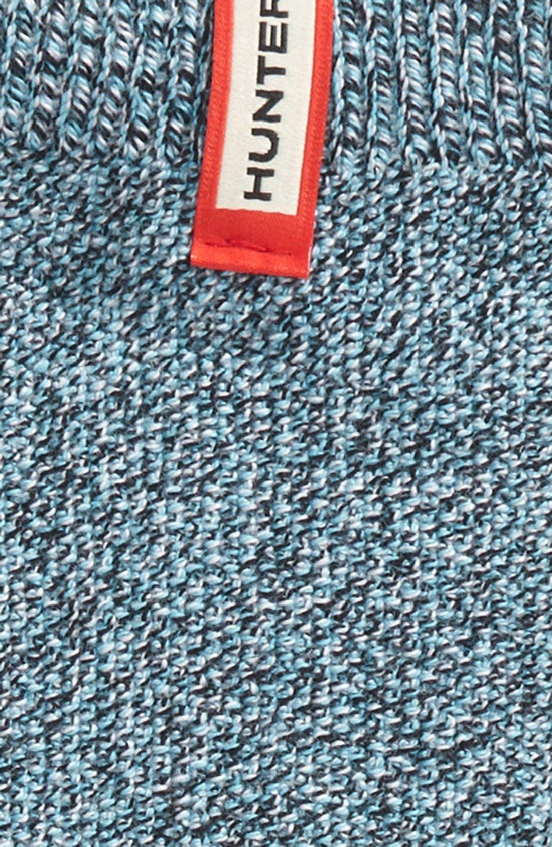 HUNTER,                             'Mouline' Socks,                             Alternate thumbnail 2, color,                             452