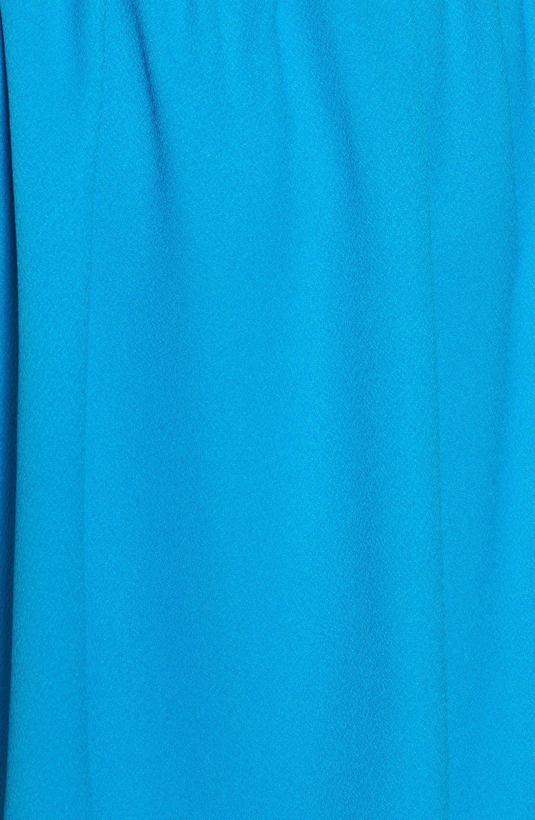 'Rowan' V-Neck Skater Dress,                             Alternate thumbnail 49, color,