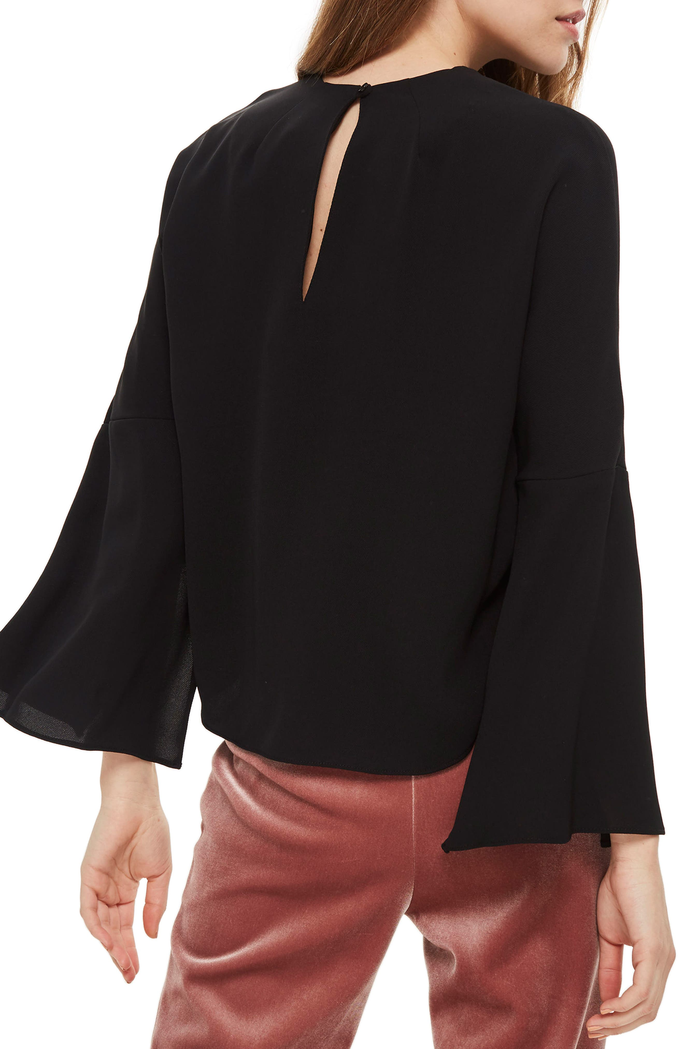 Split Sleeve Top,                             Alternate thumbnail 4, color,