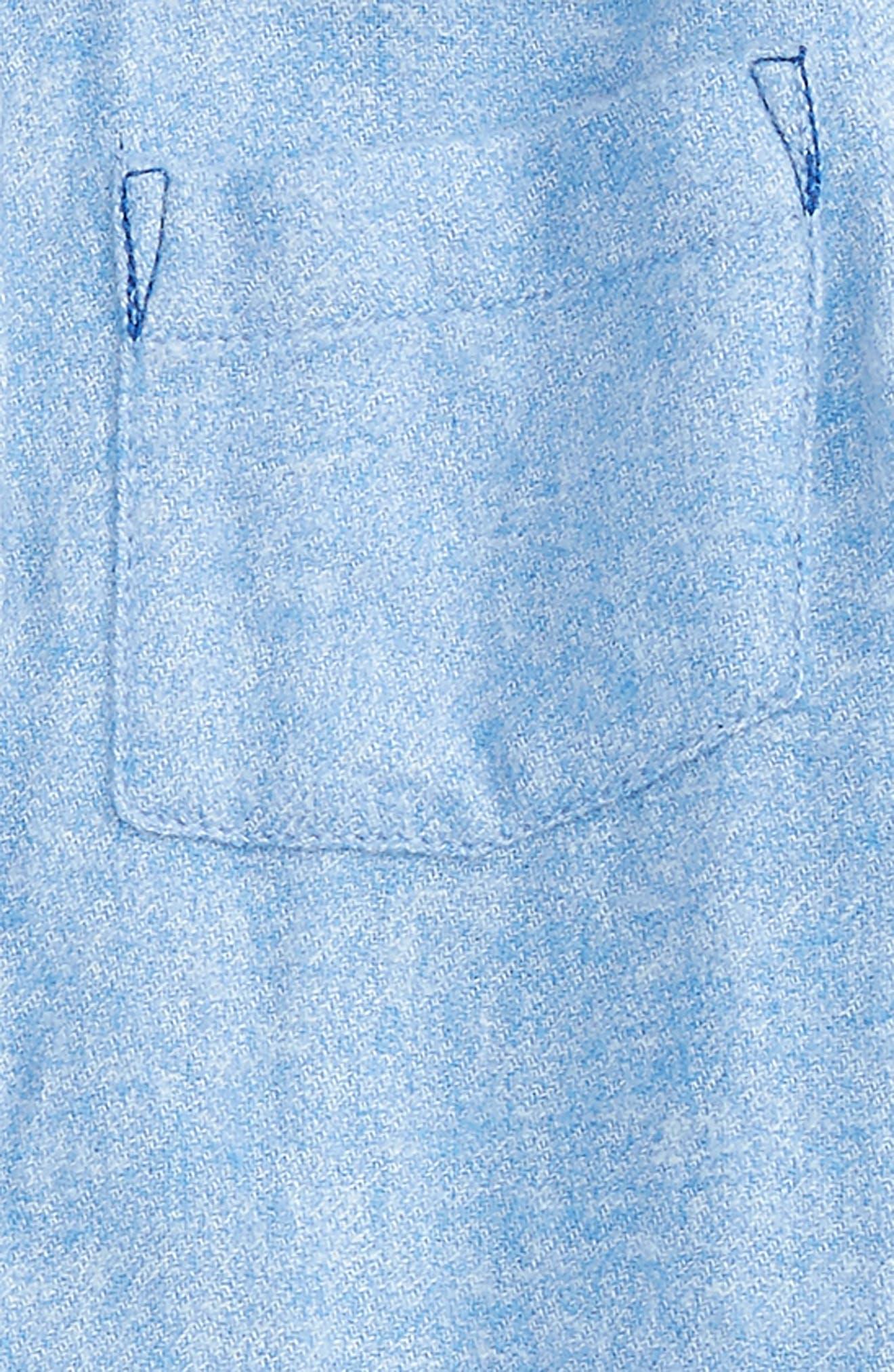 James Woven Flannel Shirt,                             Alternate thumbnail 2, color,                             452