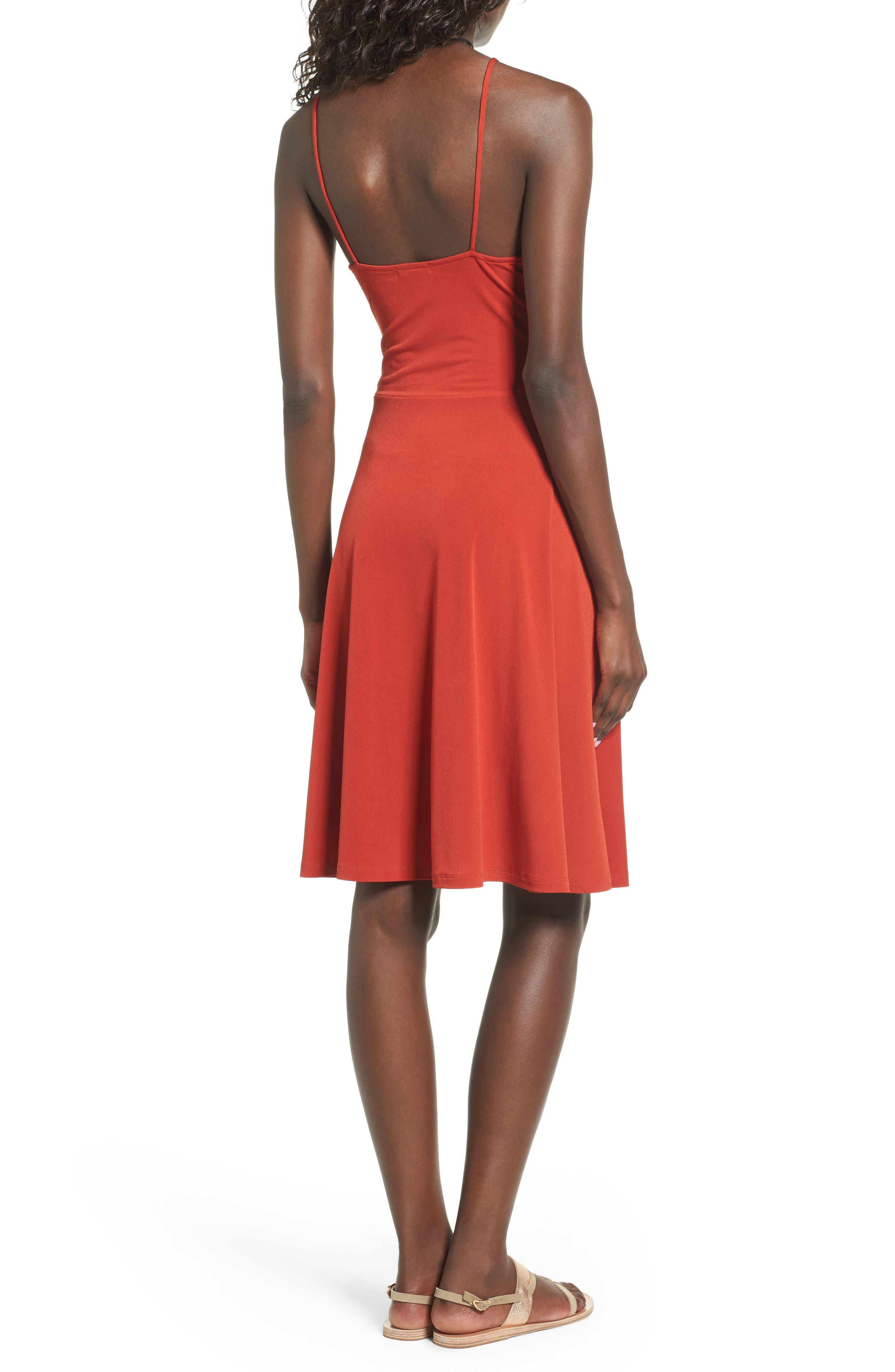 Cinch Front Dress,                             Alternate thumbnail 2, color,                             610
