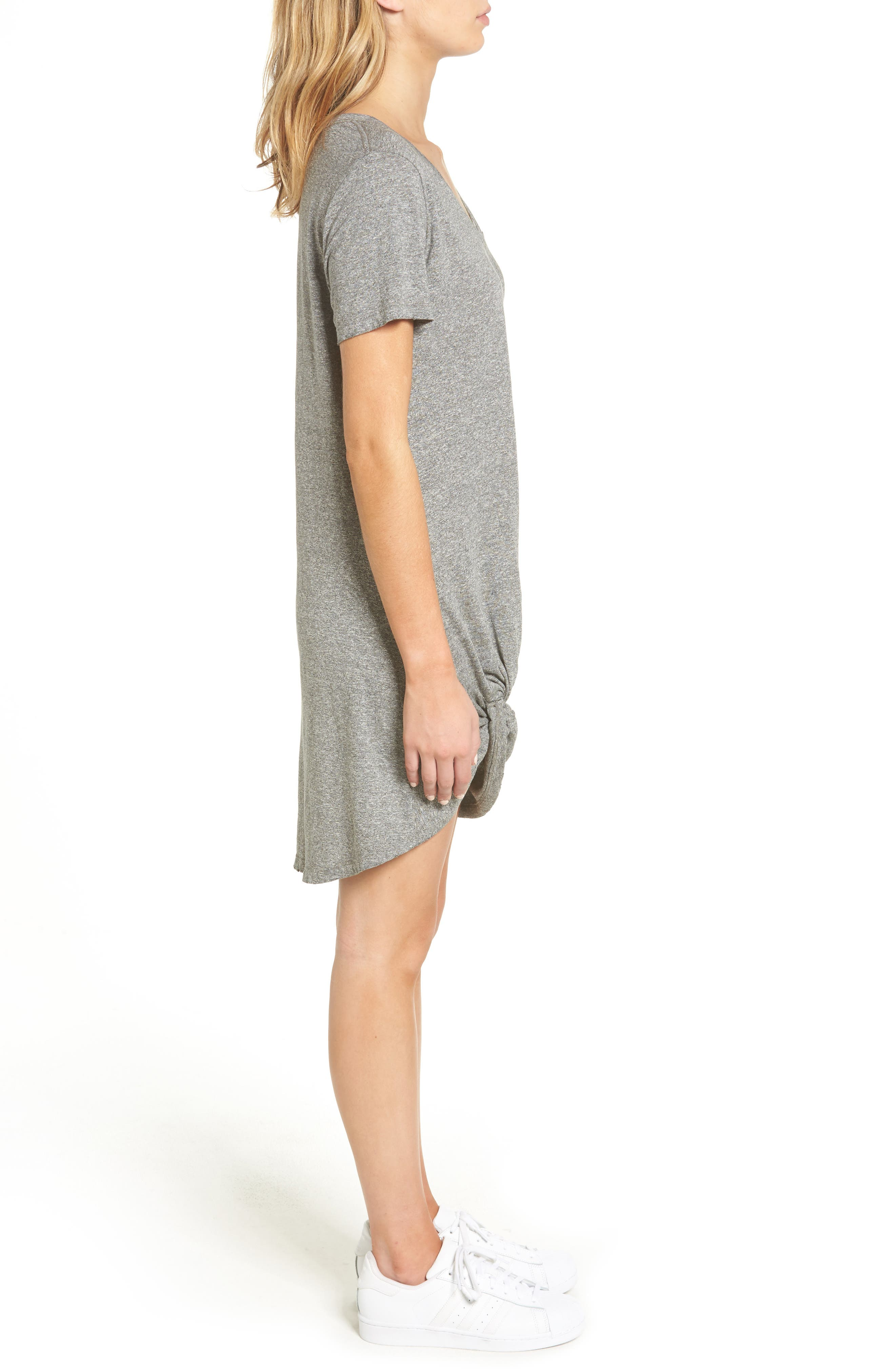 Morrison Jersey Dress,                             Alternate thumbnail 3, color,                             030