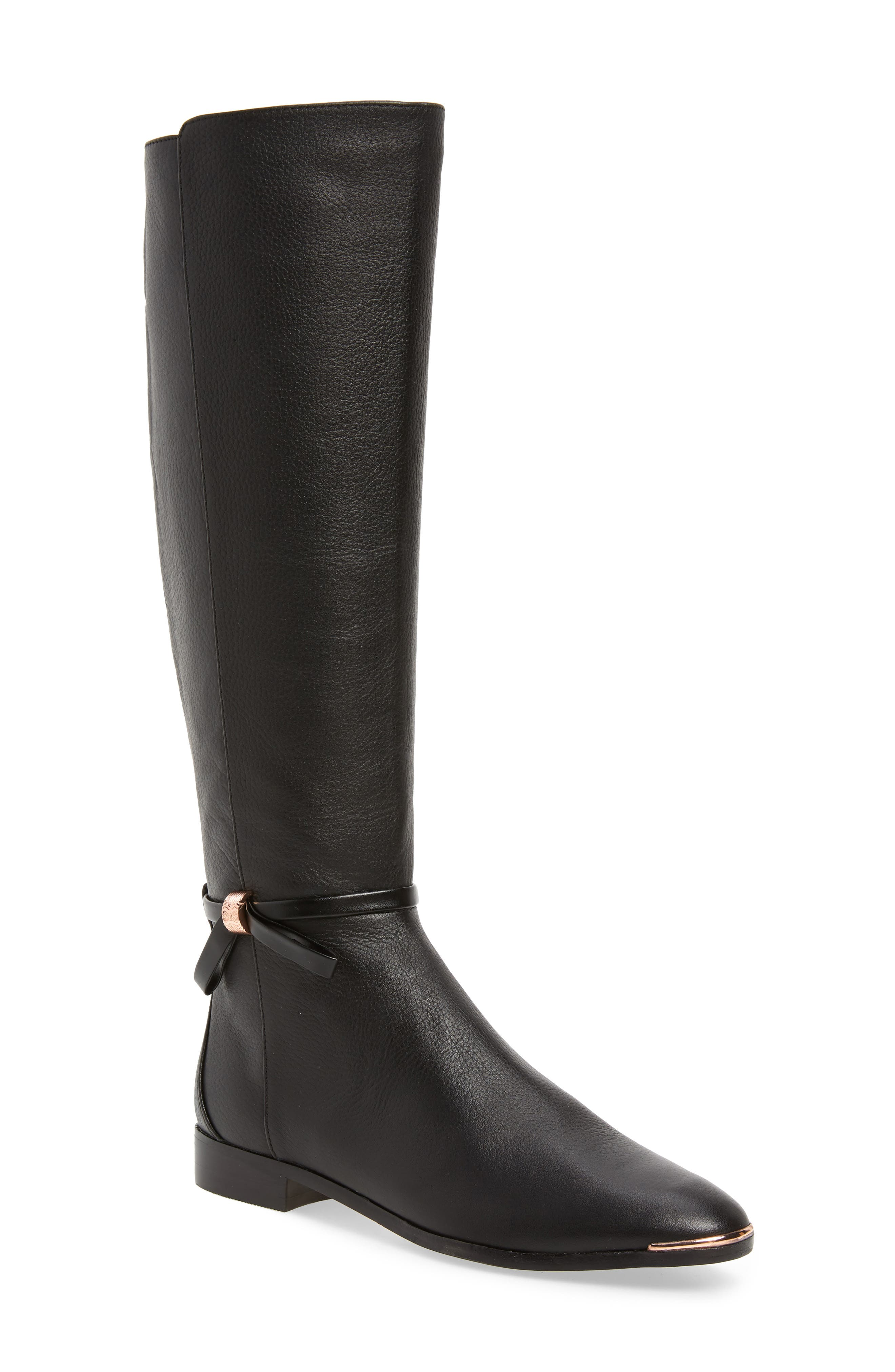 Ted Baker London Lykla Knee High Boot, Black